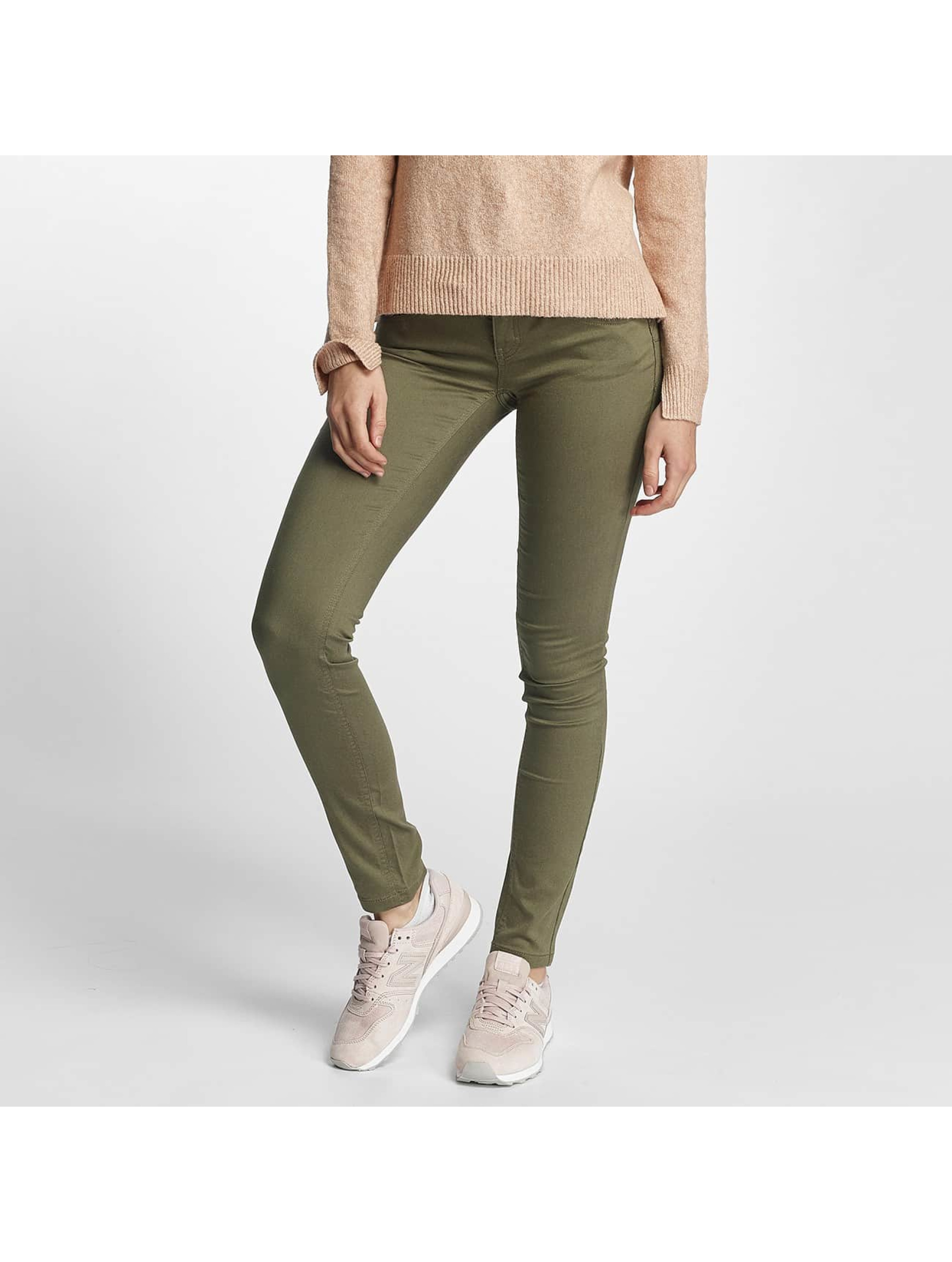 Only Frauen Skinny Jeans onlLucia in khaki