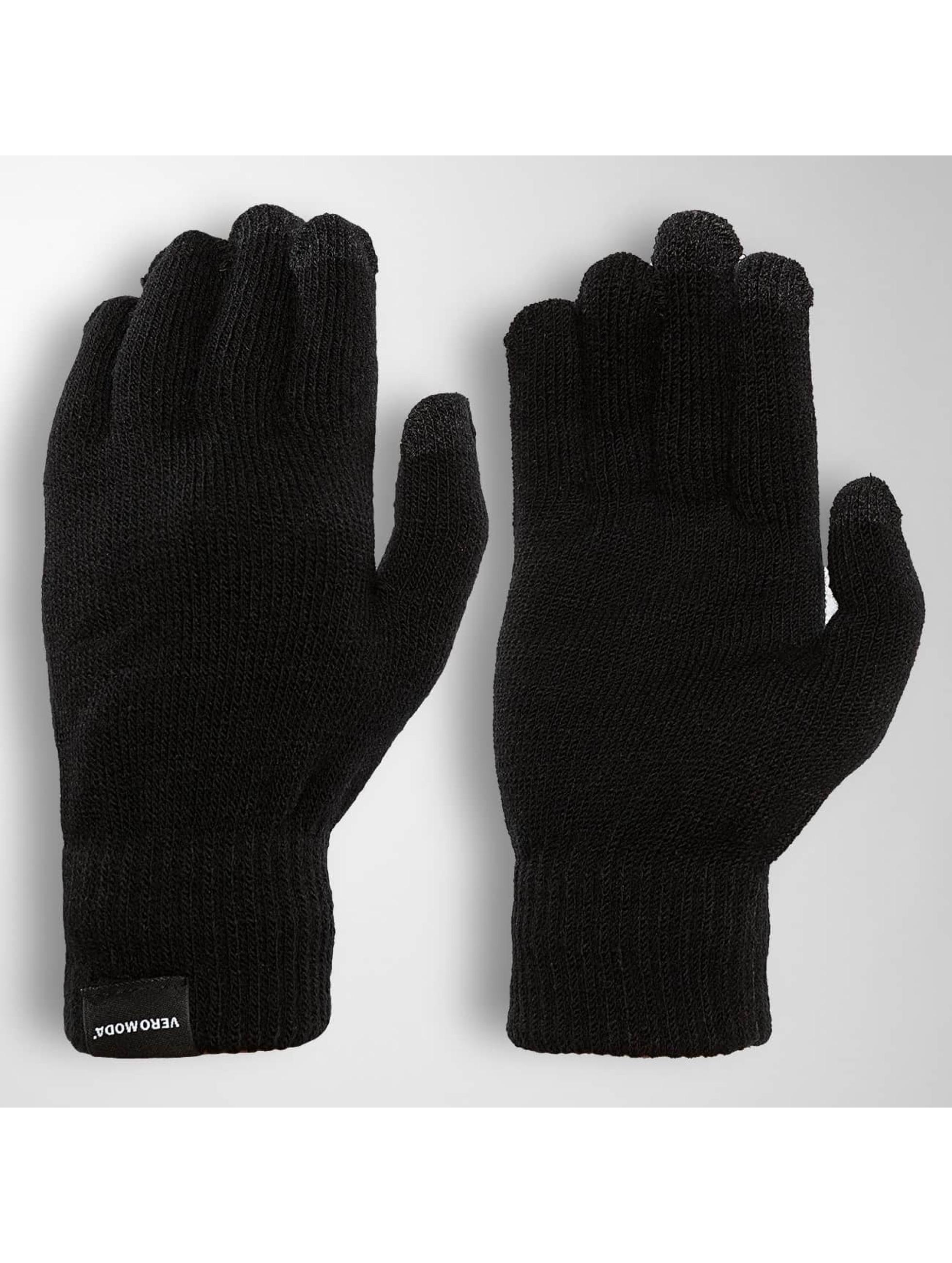 Vero Moda Frauen Handschuhe 10136390 in schwarz