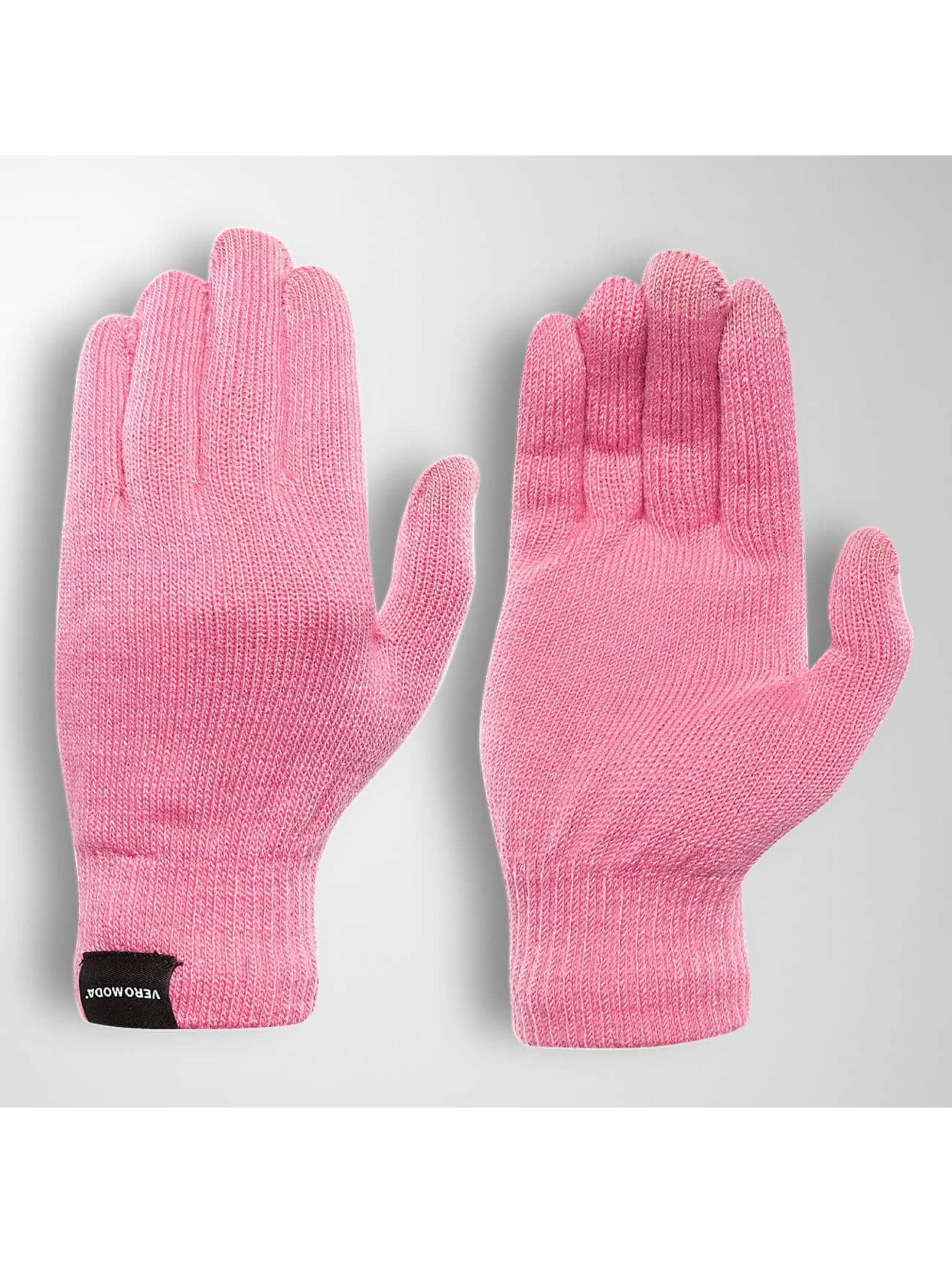 Vero Moda Frauen Handschuhe vmVilde in pink