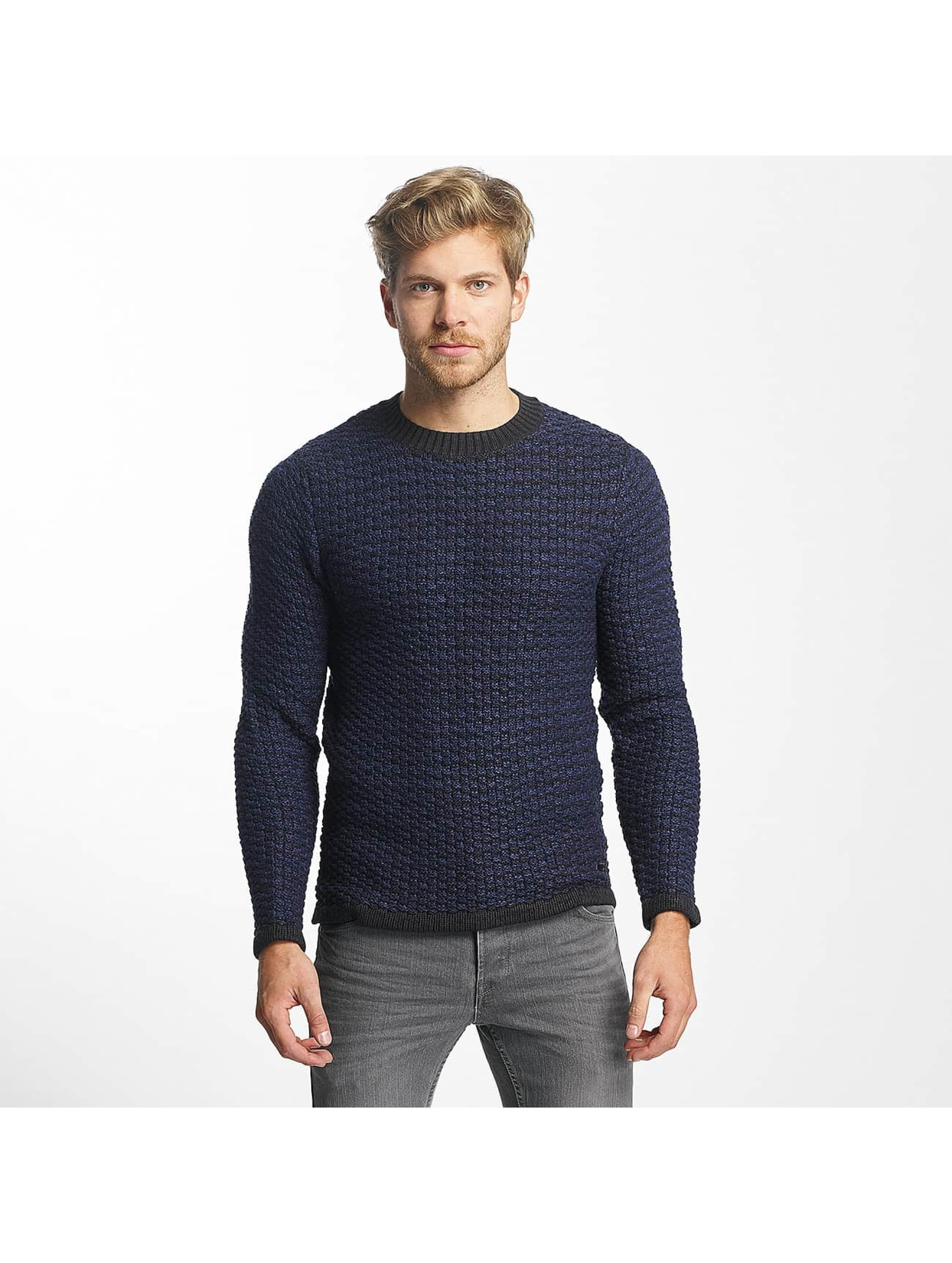 Only & Sons Männer Pullover onsDoc Crew Neck in blau