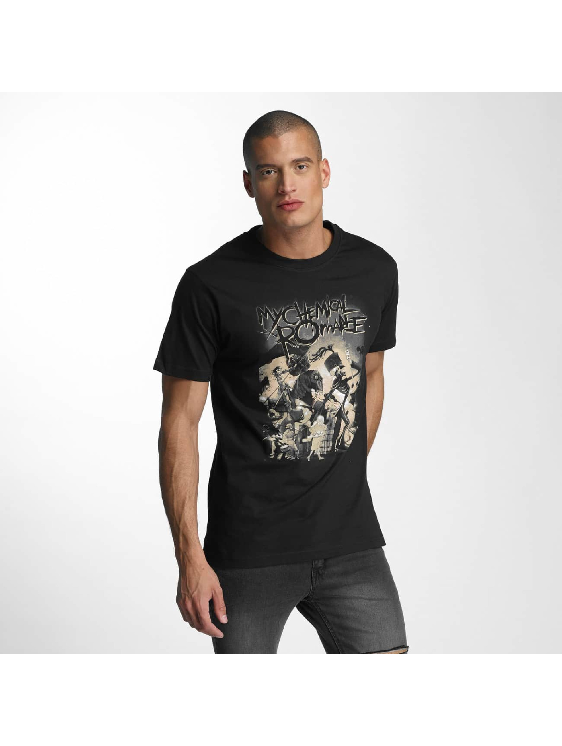 Merchcode Männer T-Shirt My Chemical Romance On Parade in schwarz