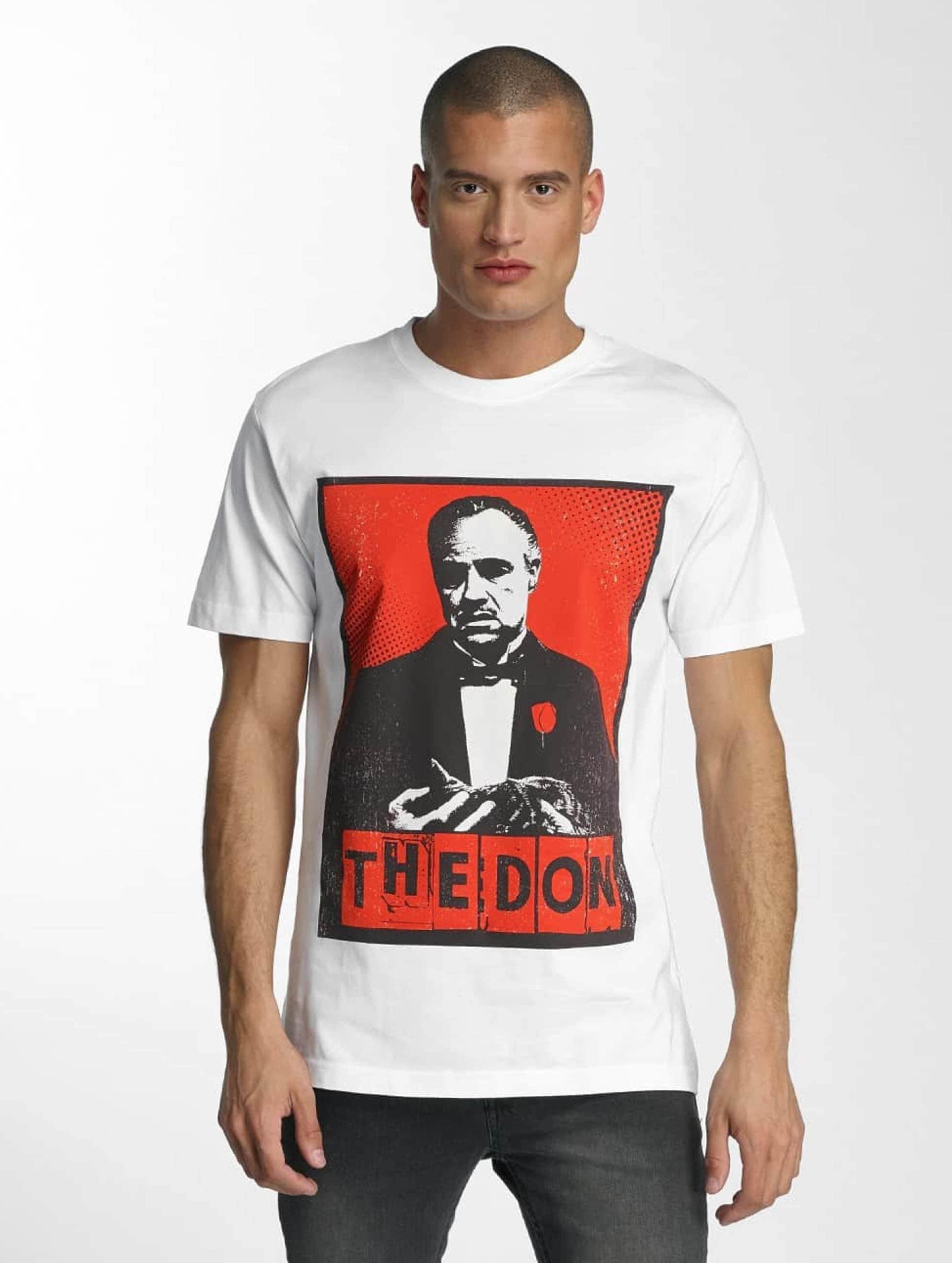 Merchcode Männer T-Shirt Godfather The Don in weiß