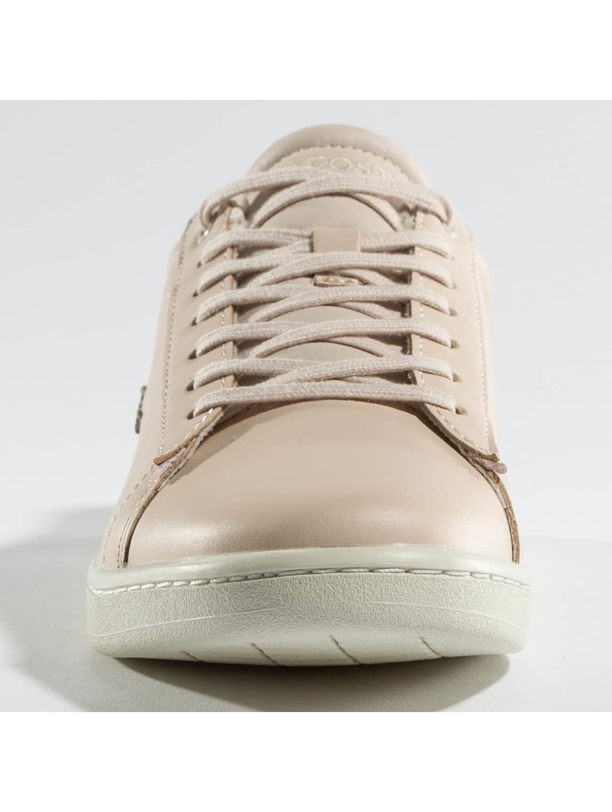 Lacoste homme chaussures baskets carnaby evo 417 1 spw - Lacoste carnaby evo cls baskets en cuir perfore ...