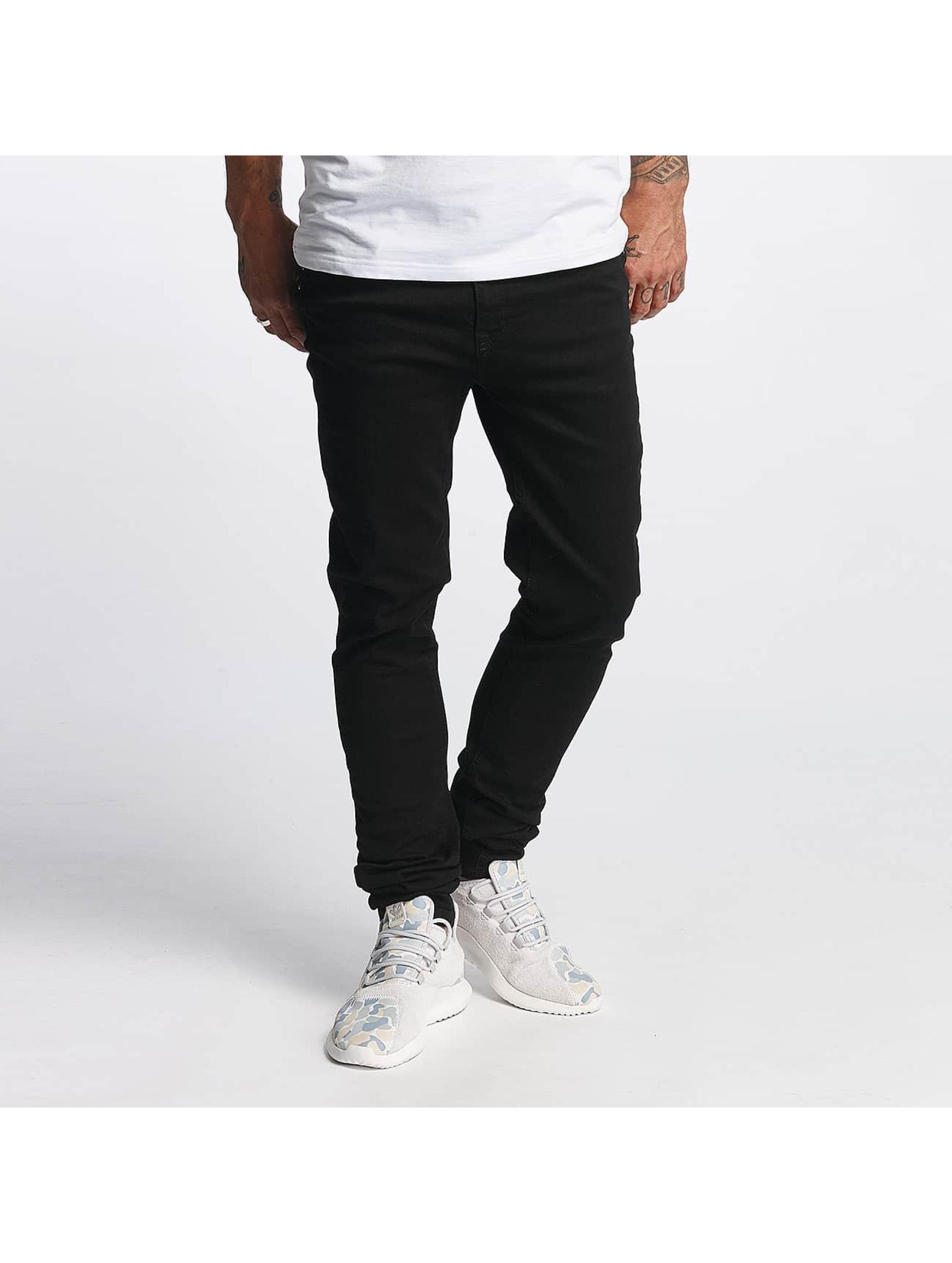 DEF Männer Slim Fit Jeans Ano in schwarz