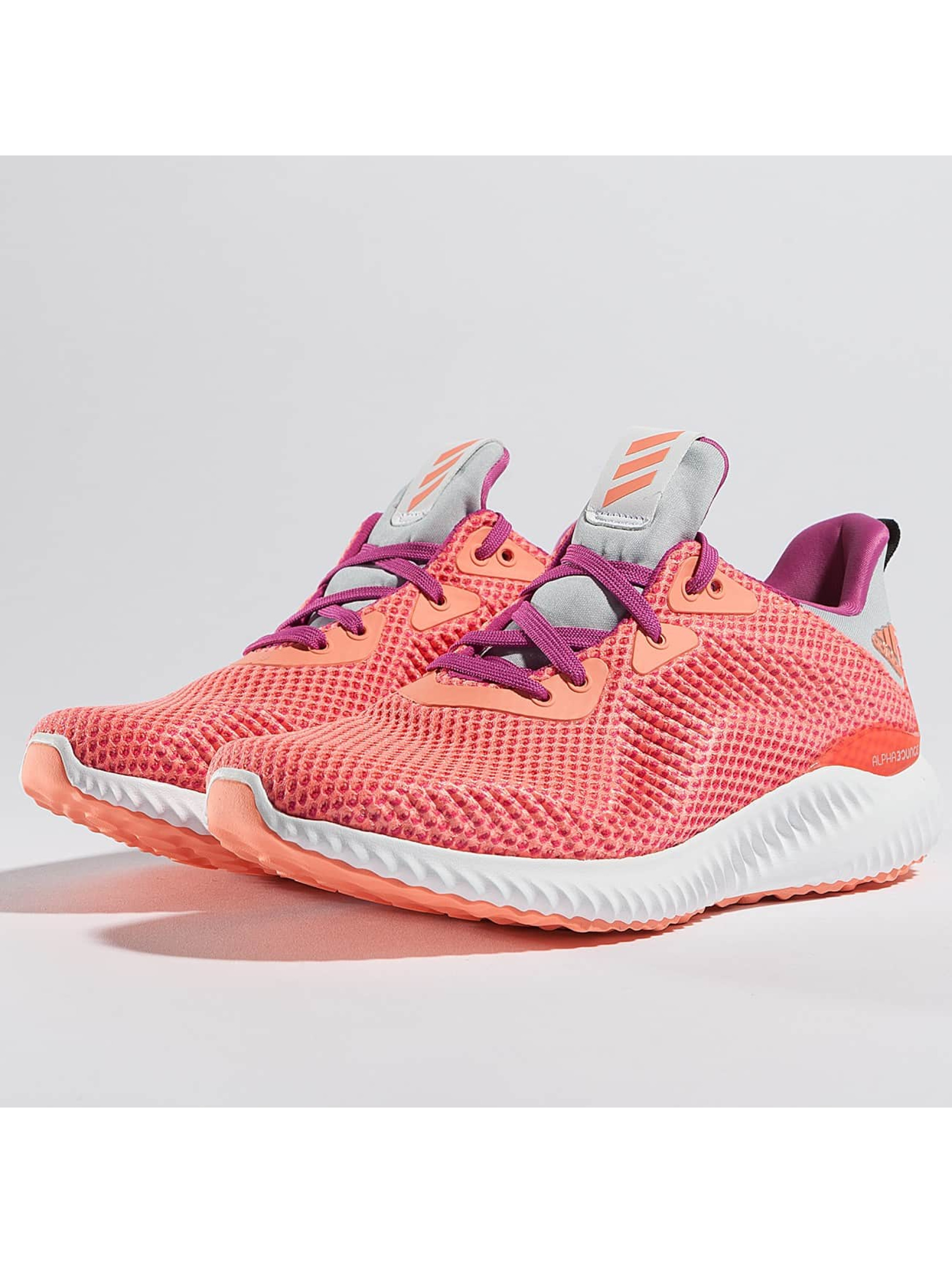 adidas Frauen,Kinder Sneaker Alphabounce J in orange