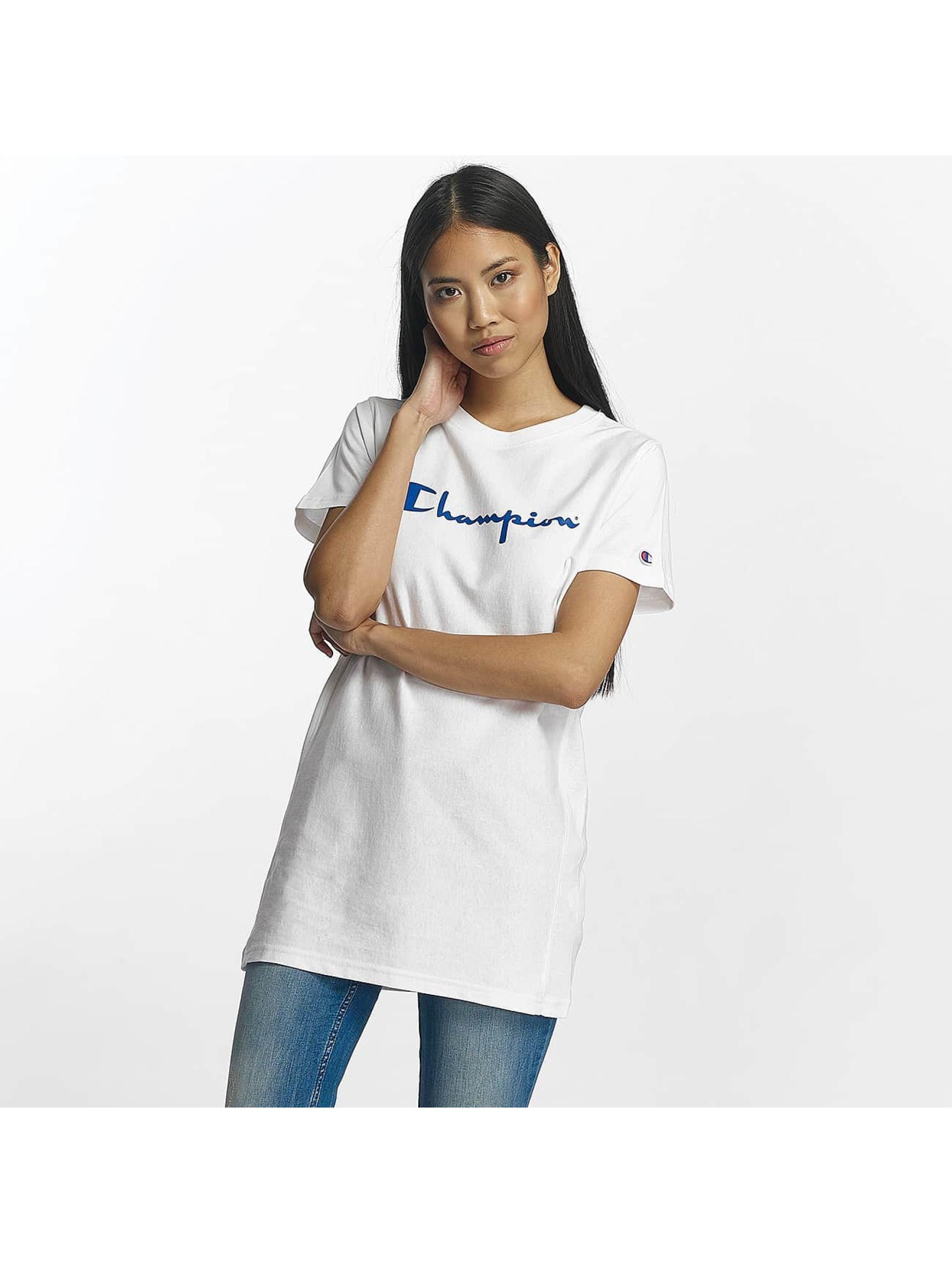 Champion Frauen T-Shirt Champion Logo T-Shirt in weiß