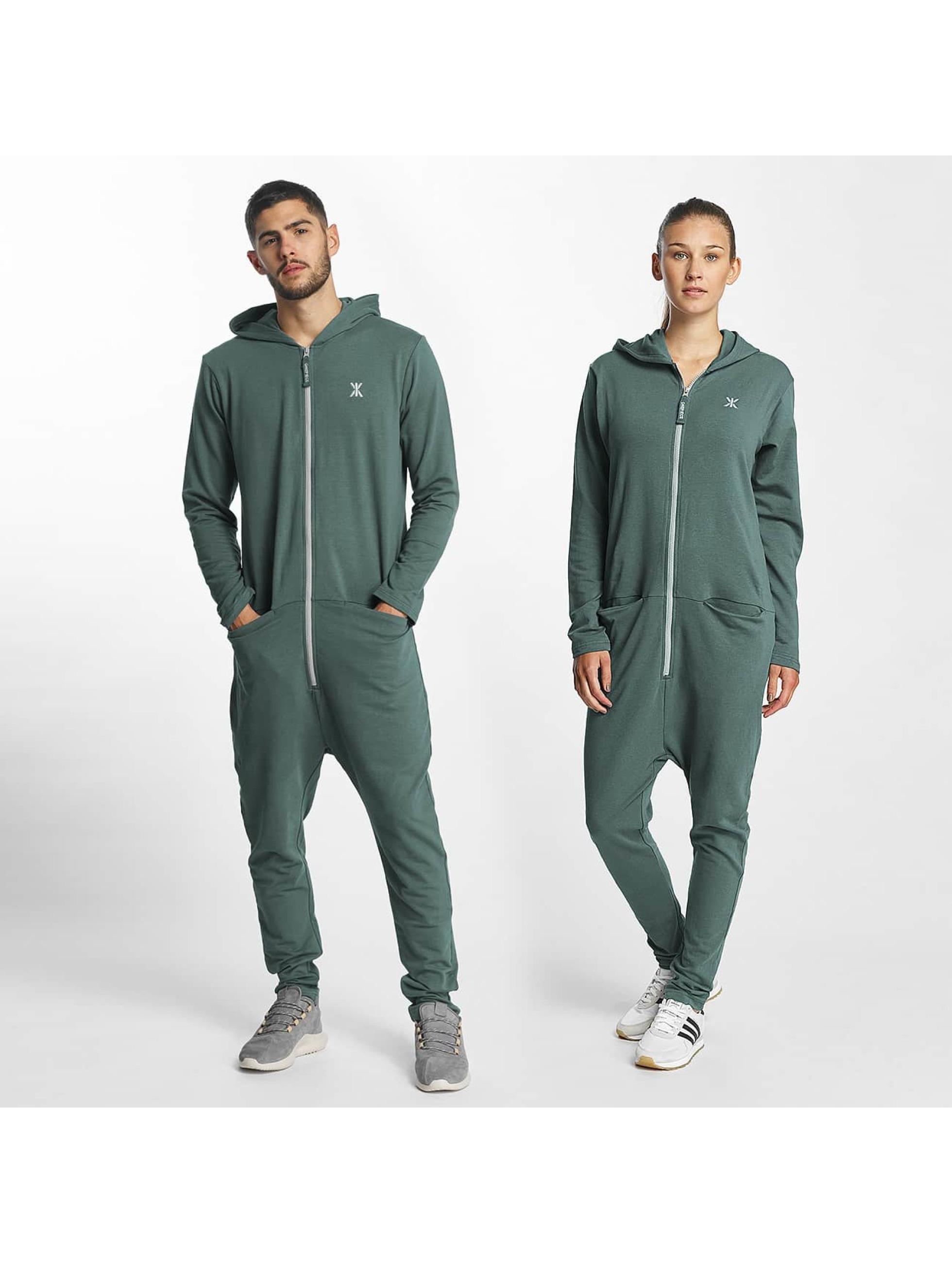 OnePiece Männer,Frauen Jumpsuit Uno in grün