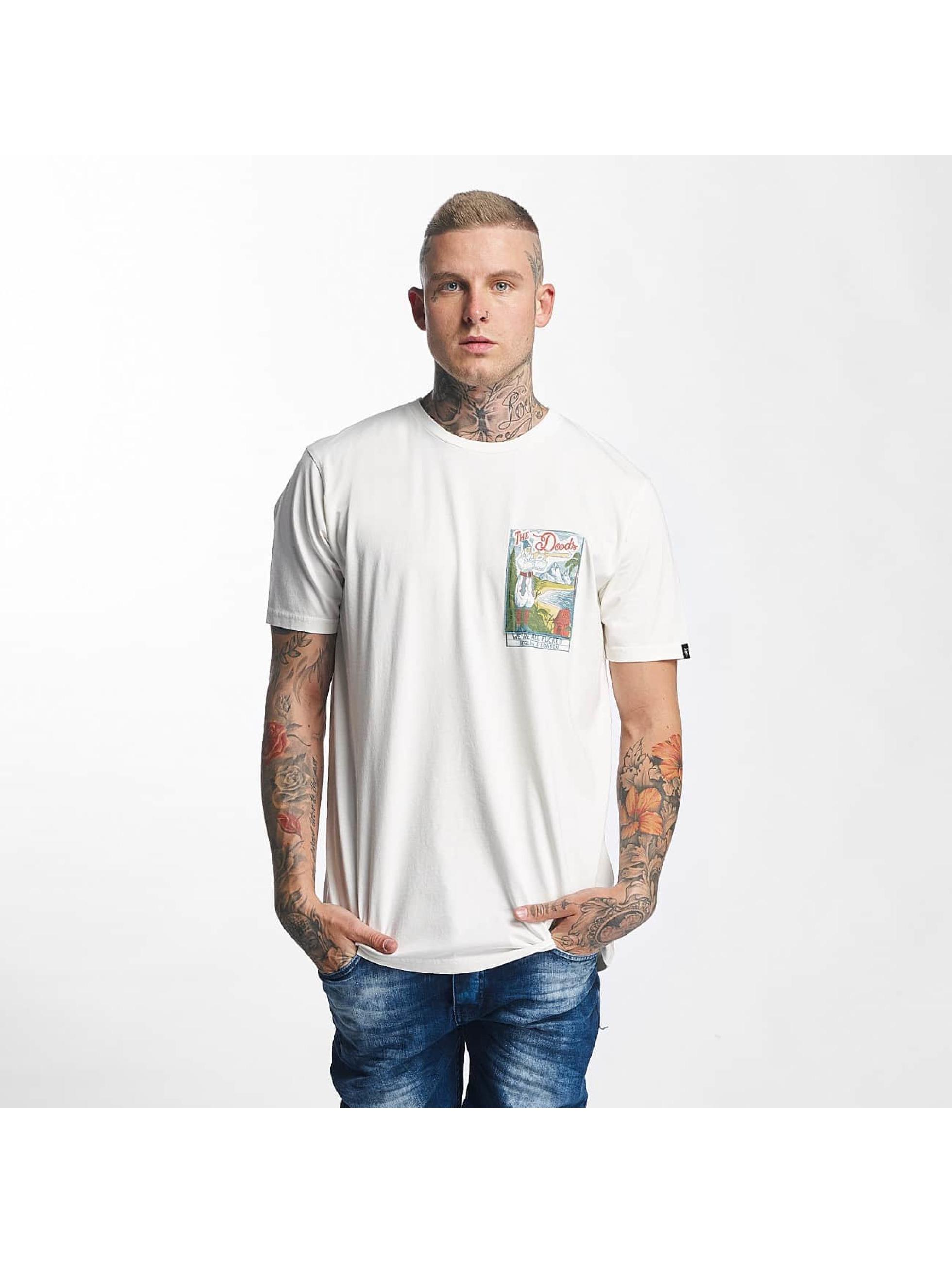The Dudes Männer T-Shirt Fucked in weiß