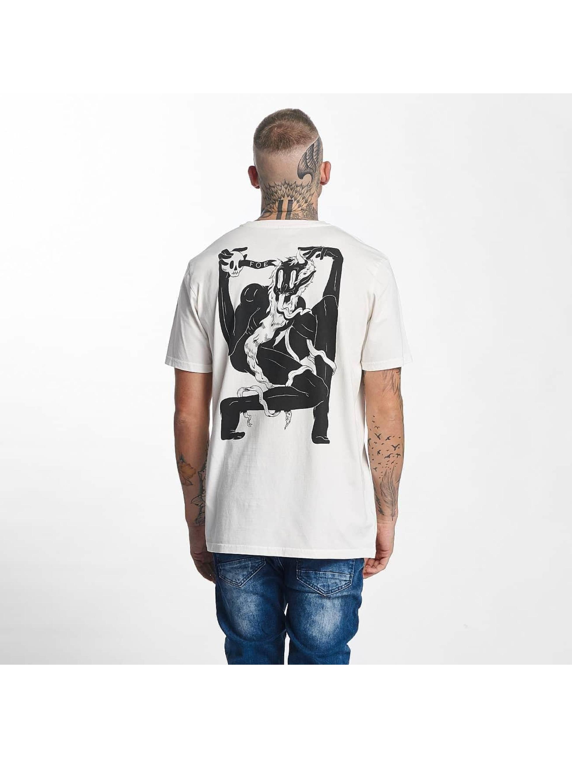 The Dudes Männer T-Shirt Foe in weiß