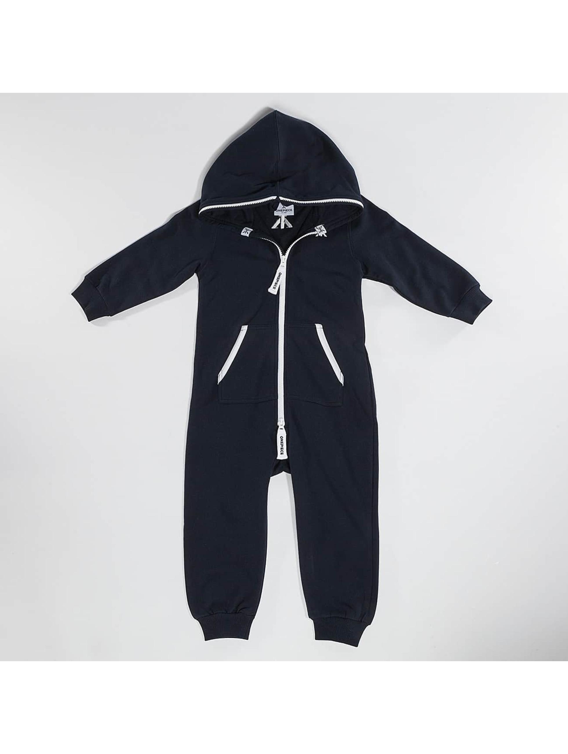 OnePiece Kinder Jumpsuit Solid Baby in blau