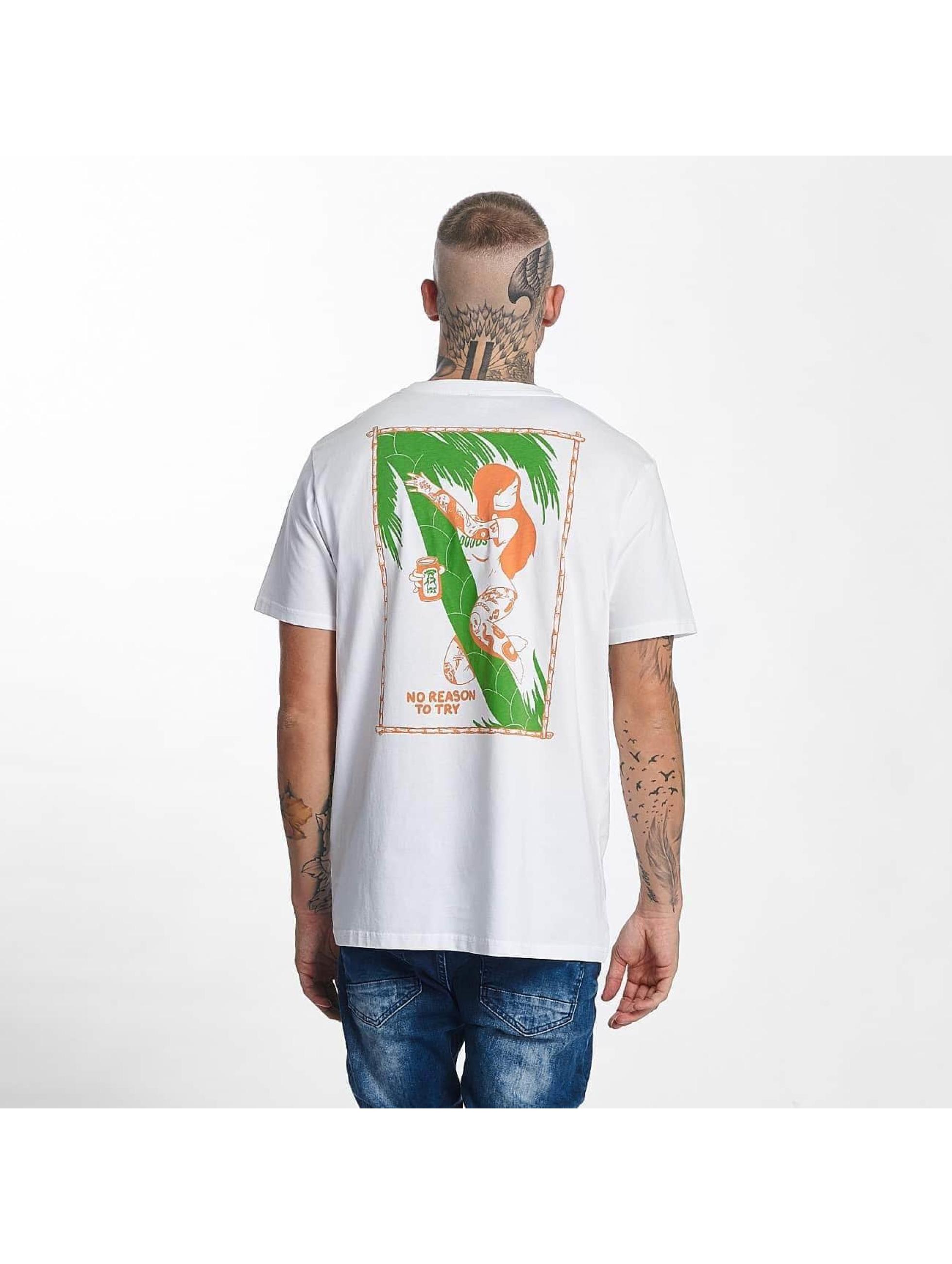 The Dudes Männer T-Shirt Ipa in weiß