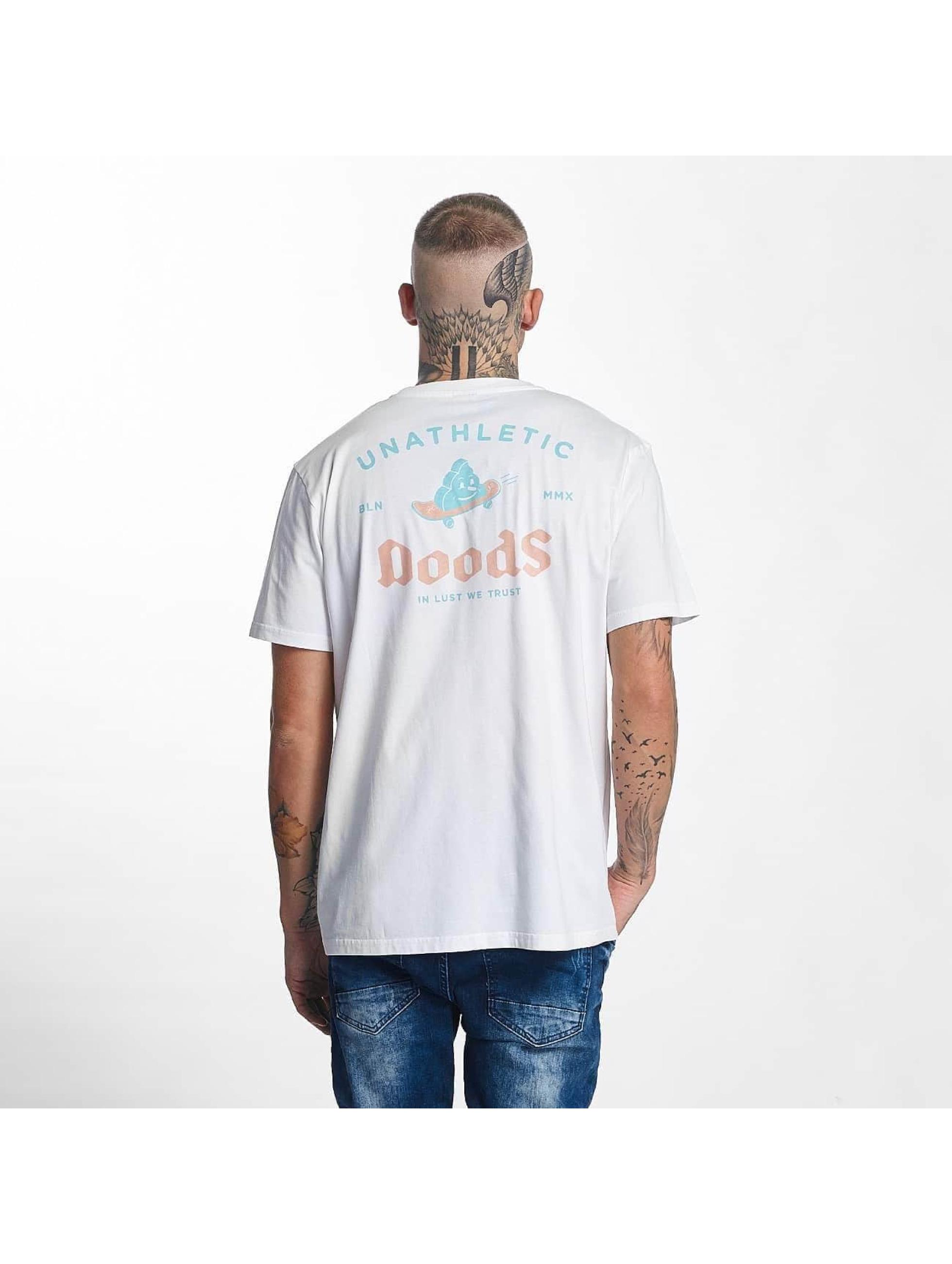 The Dudes Männer T-Shirt Skateshit in weiß