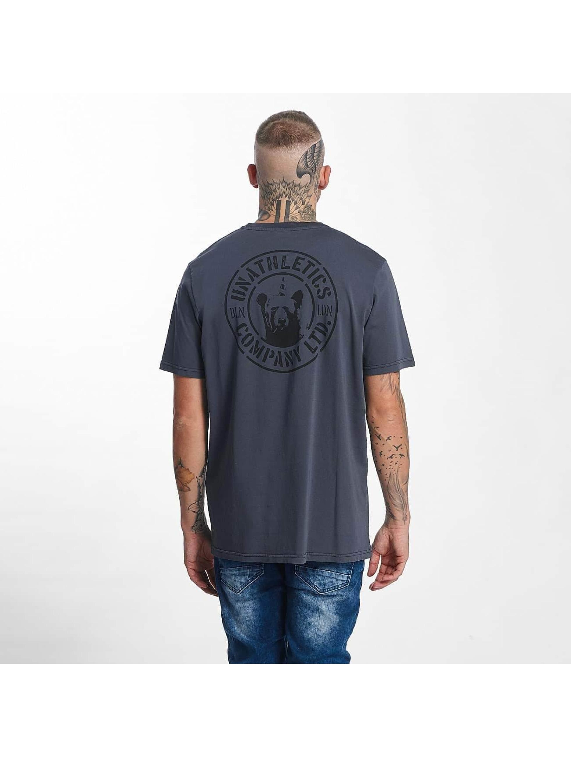 The Dudes Männer T-Shirt Unathletics Company in grau