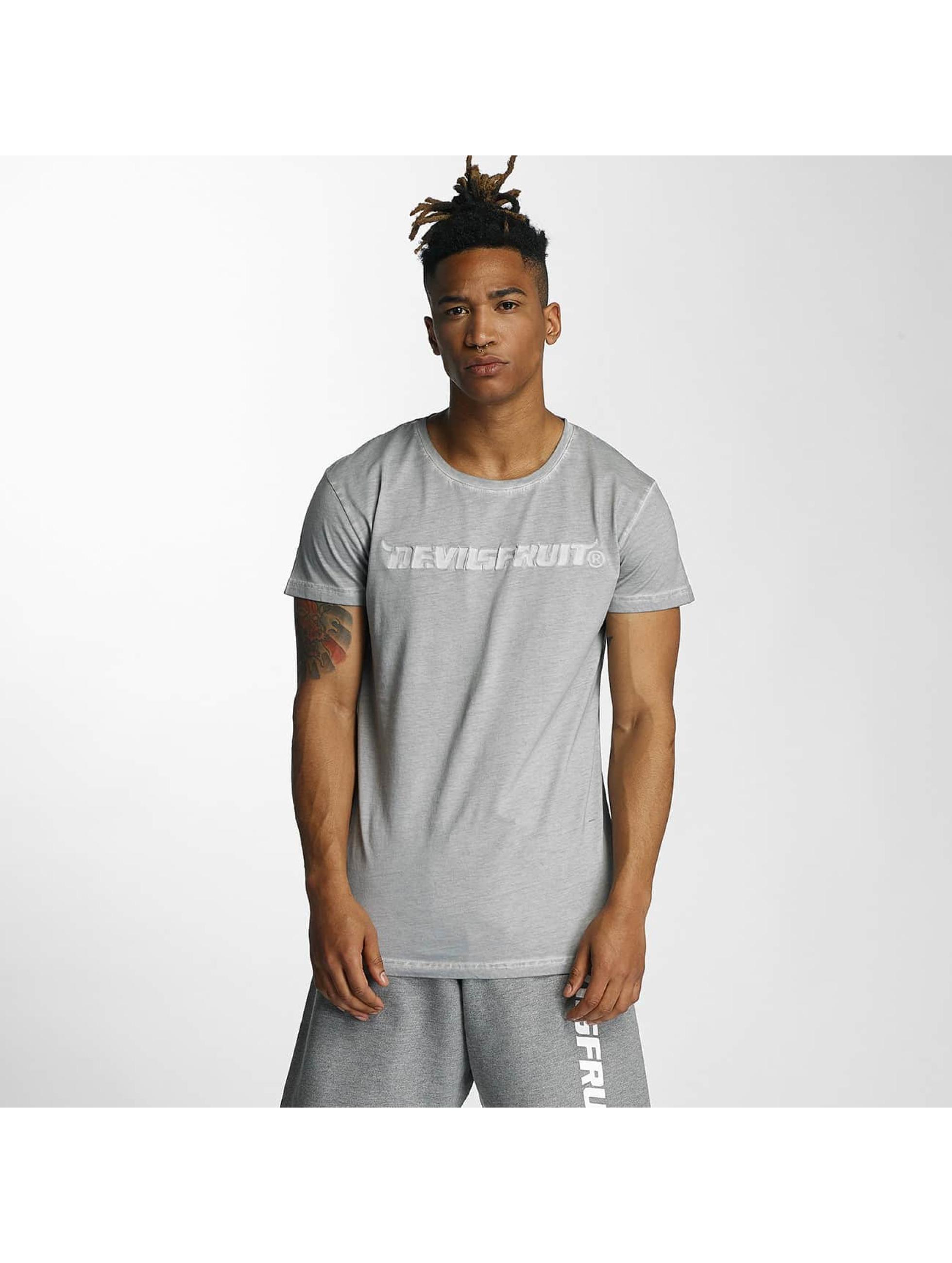 Devilsfruit Männer T-Shirt Holla in grau
