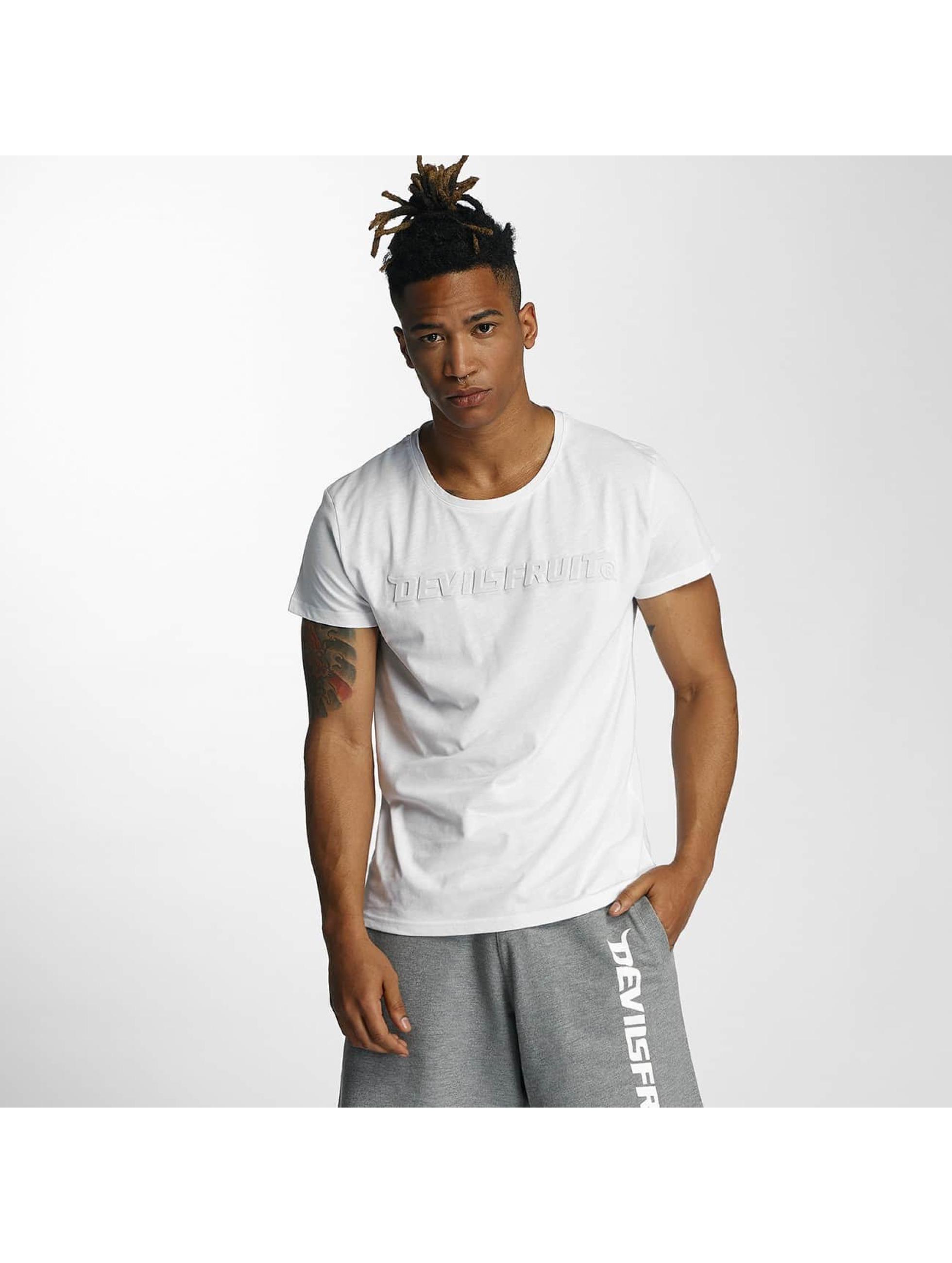Devilsfruit Männer T-Shirt Bea in weiß