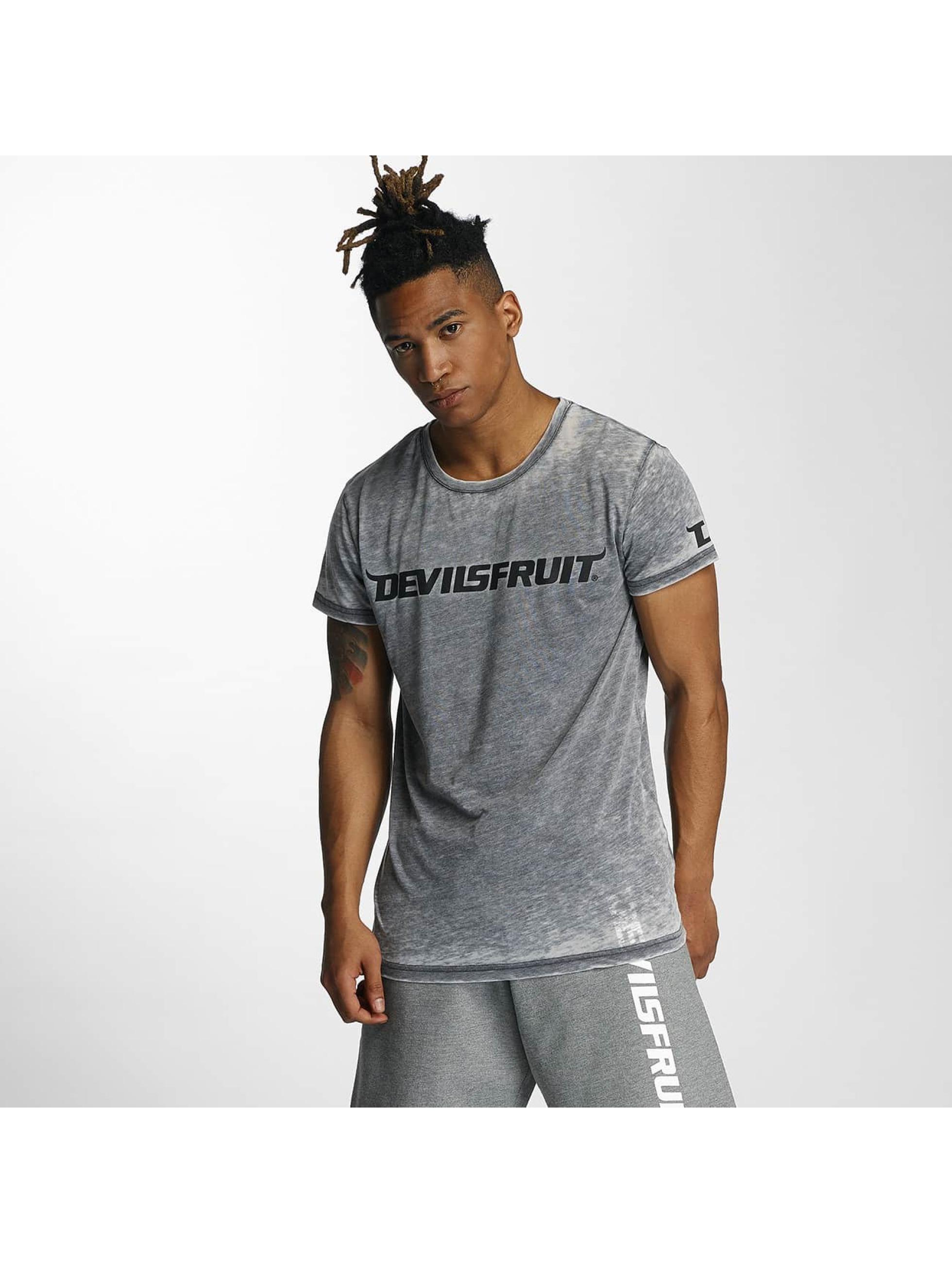 Devilsfruit Männer T-Shirt Ransome in grau