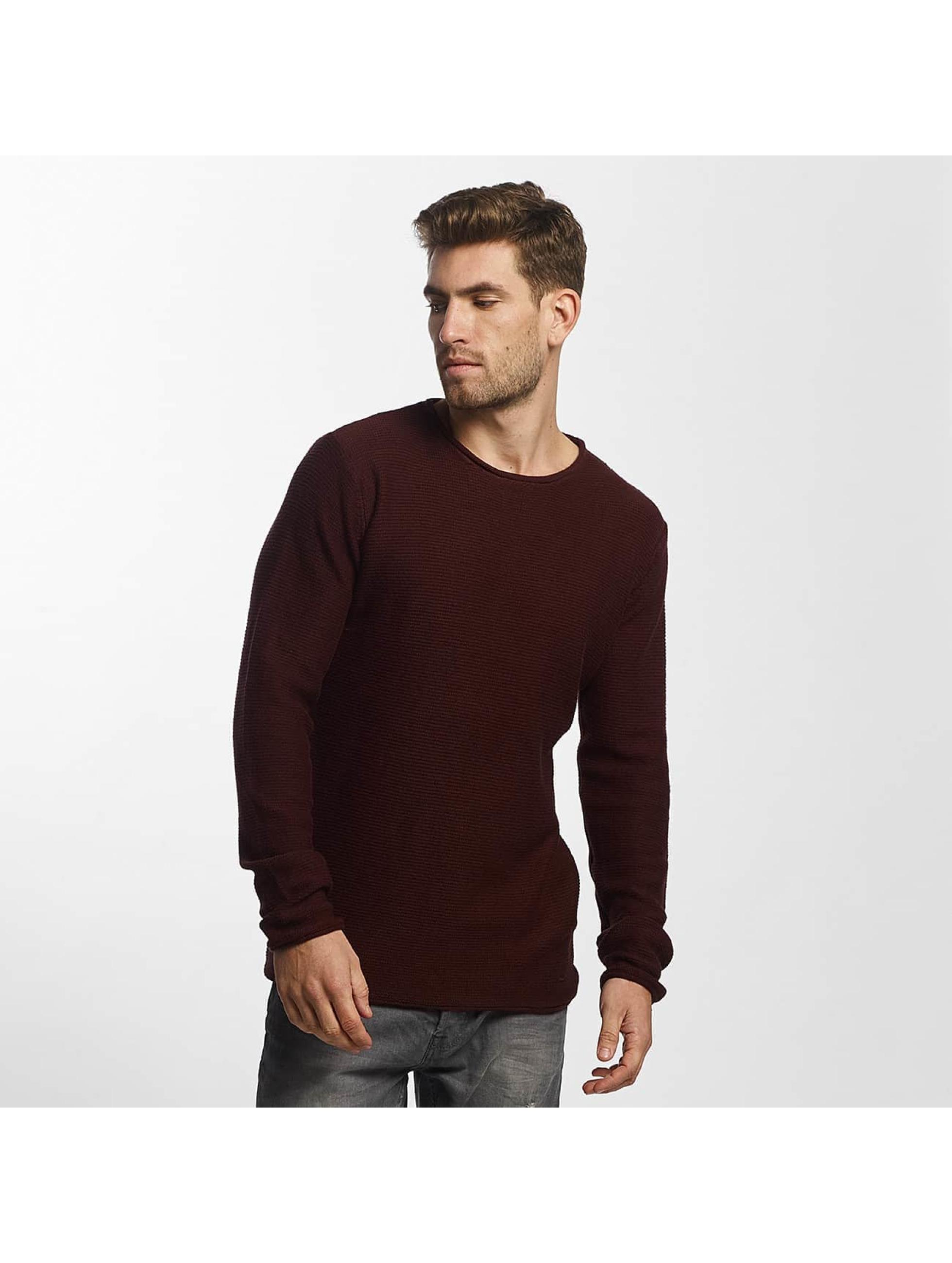 Solid Männer Pullover Jarah Knit in rot