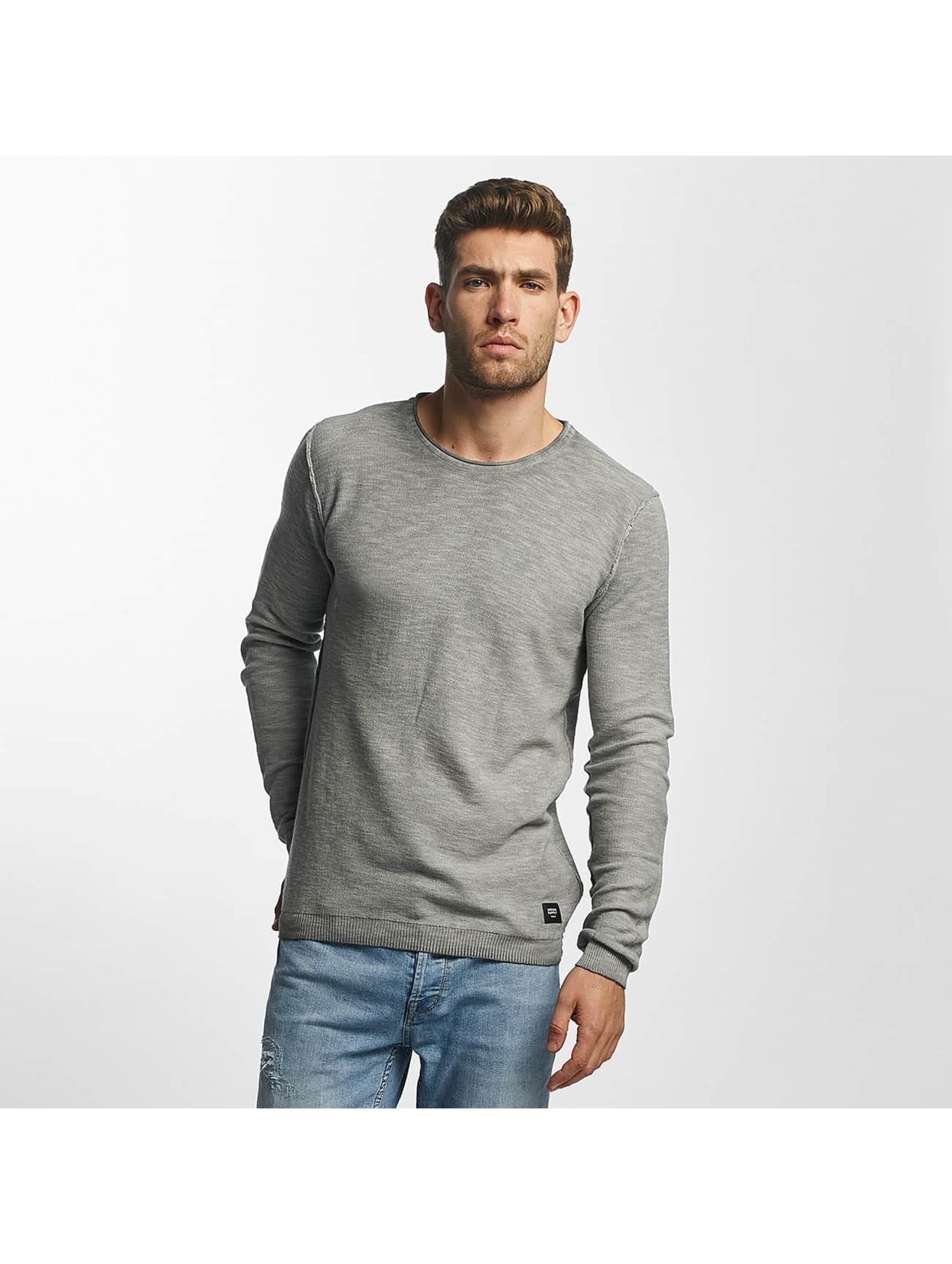 Solid Männer Pullover Karli Knit in grau