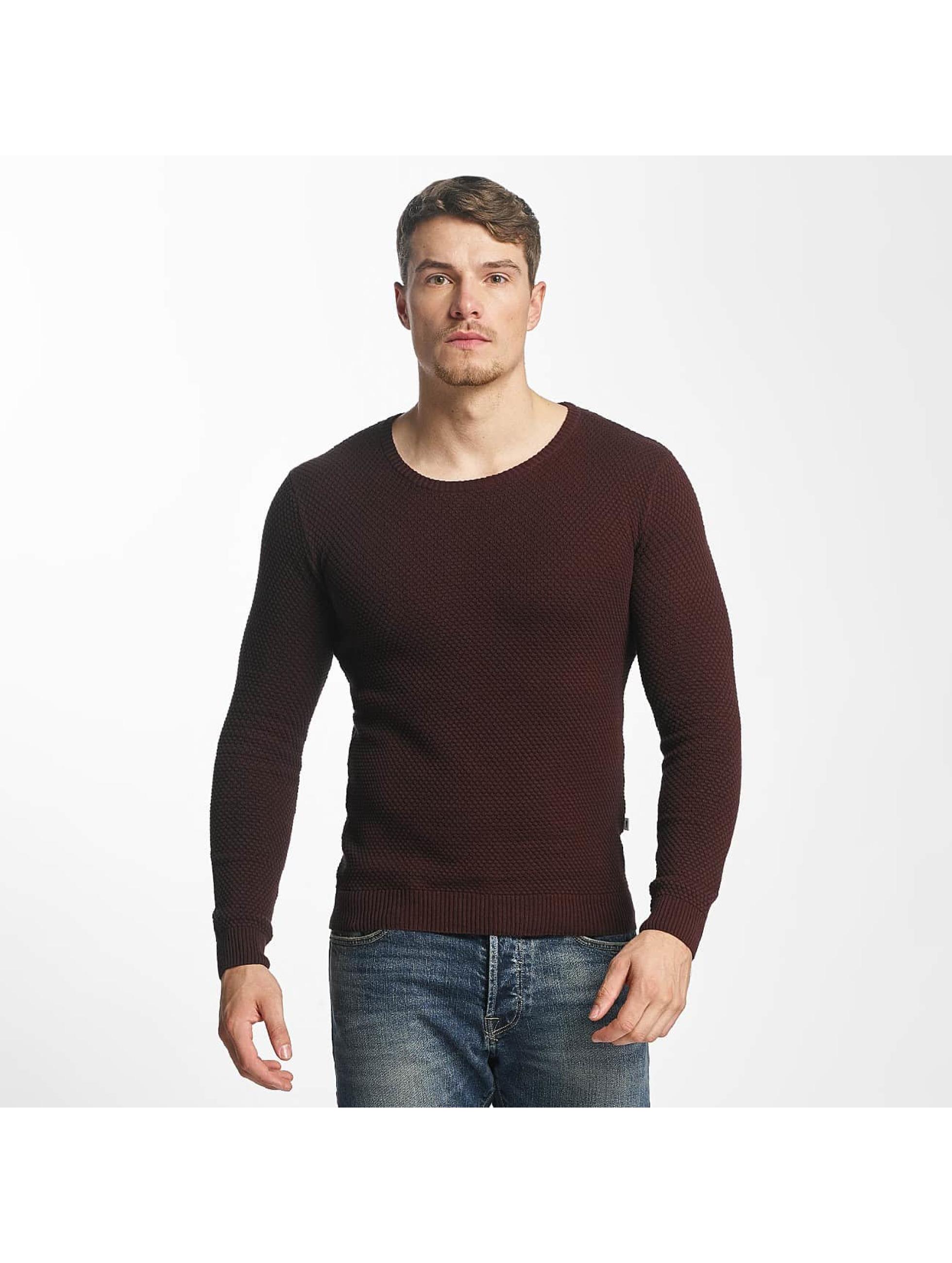 Solid Männer Pullover Gyden in braun