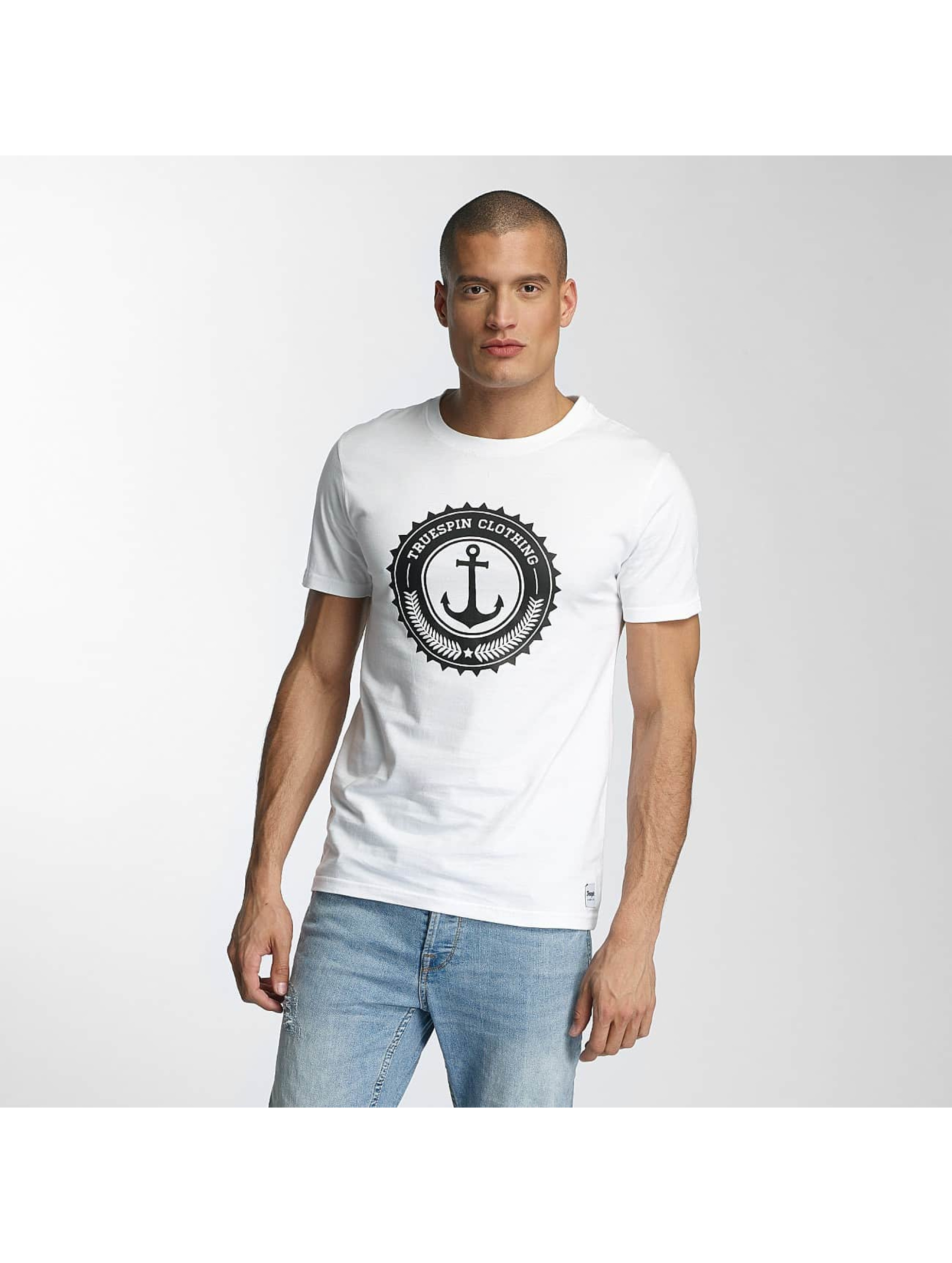 TrueSpin Männer T-Shirt 2 in weiß