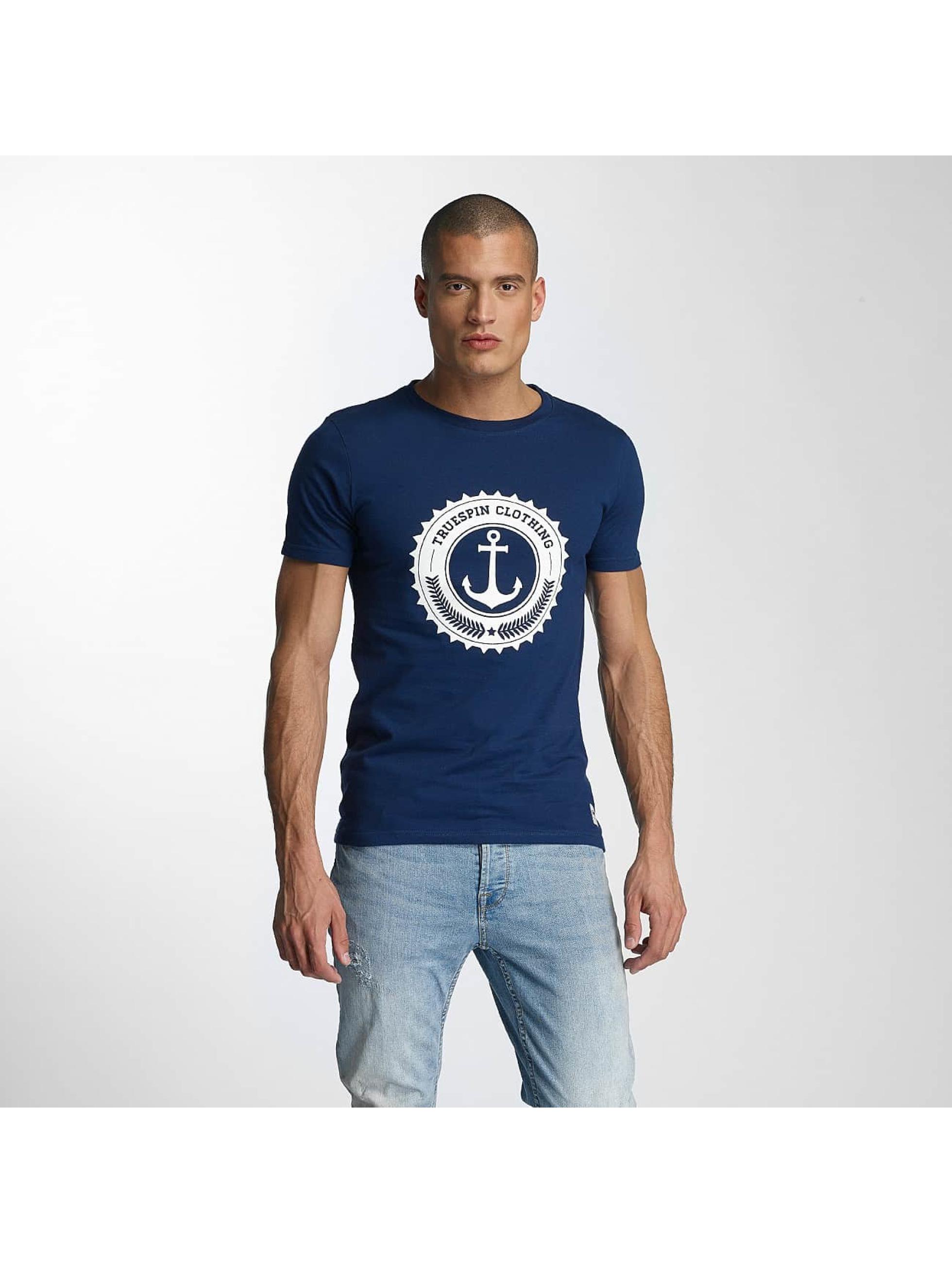 TrueSpin Männer T-Shirt 2 in blau