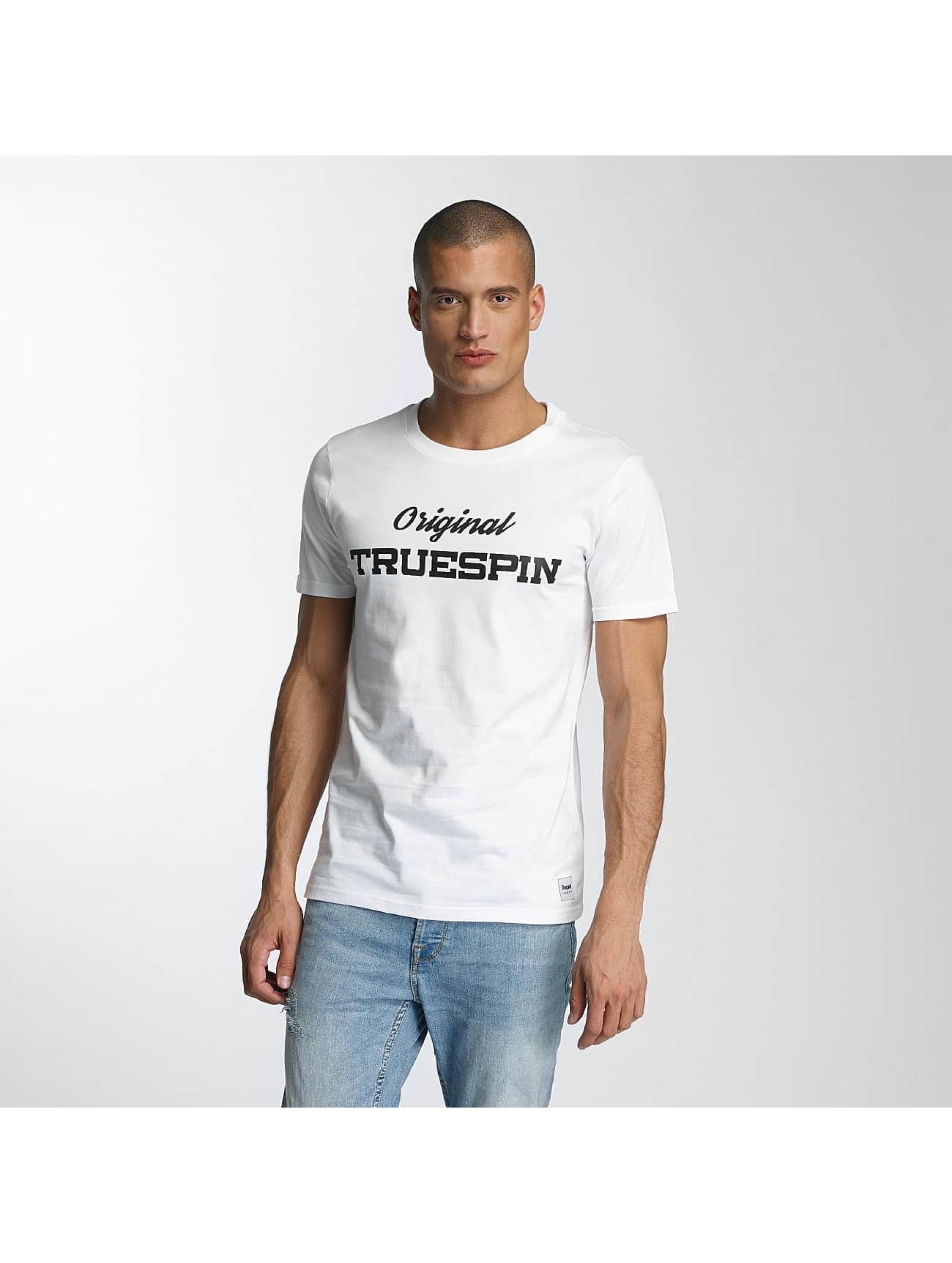 TrueSpin Männer T-Shirt 3 in weiß