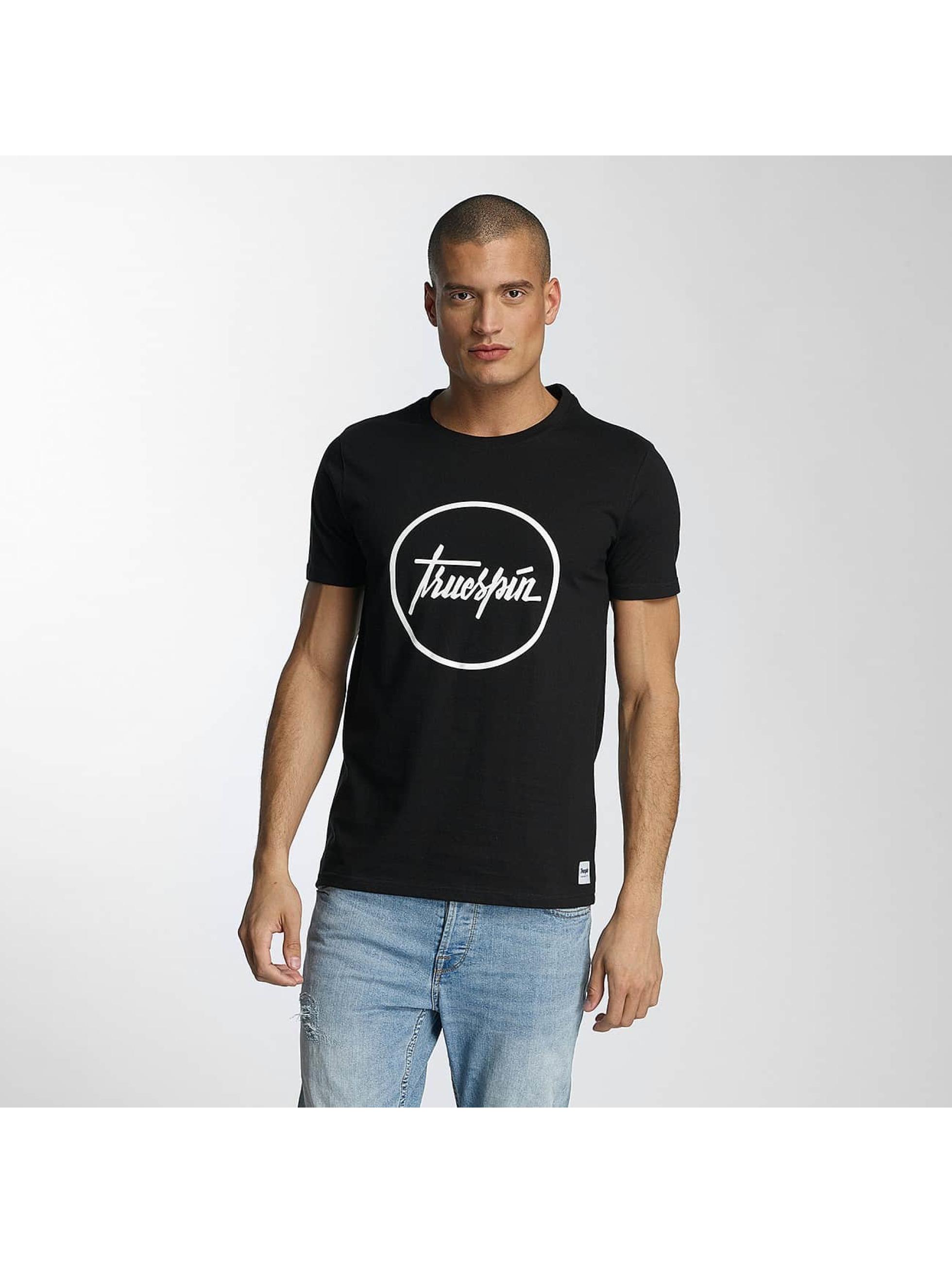 TrueSpin Männer T-Shirt 5 in schwarz
