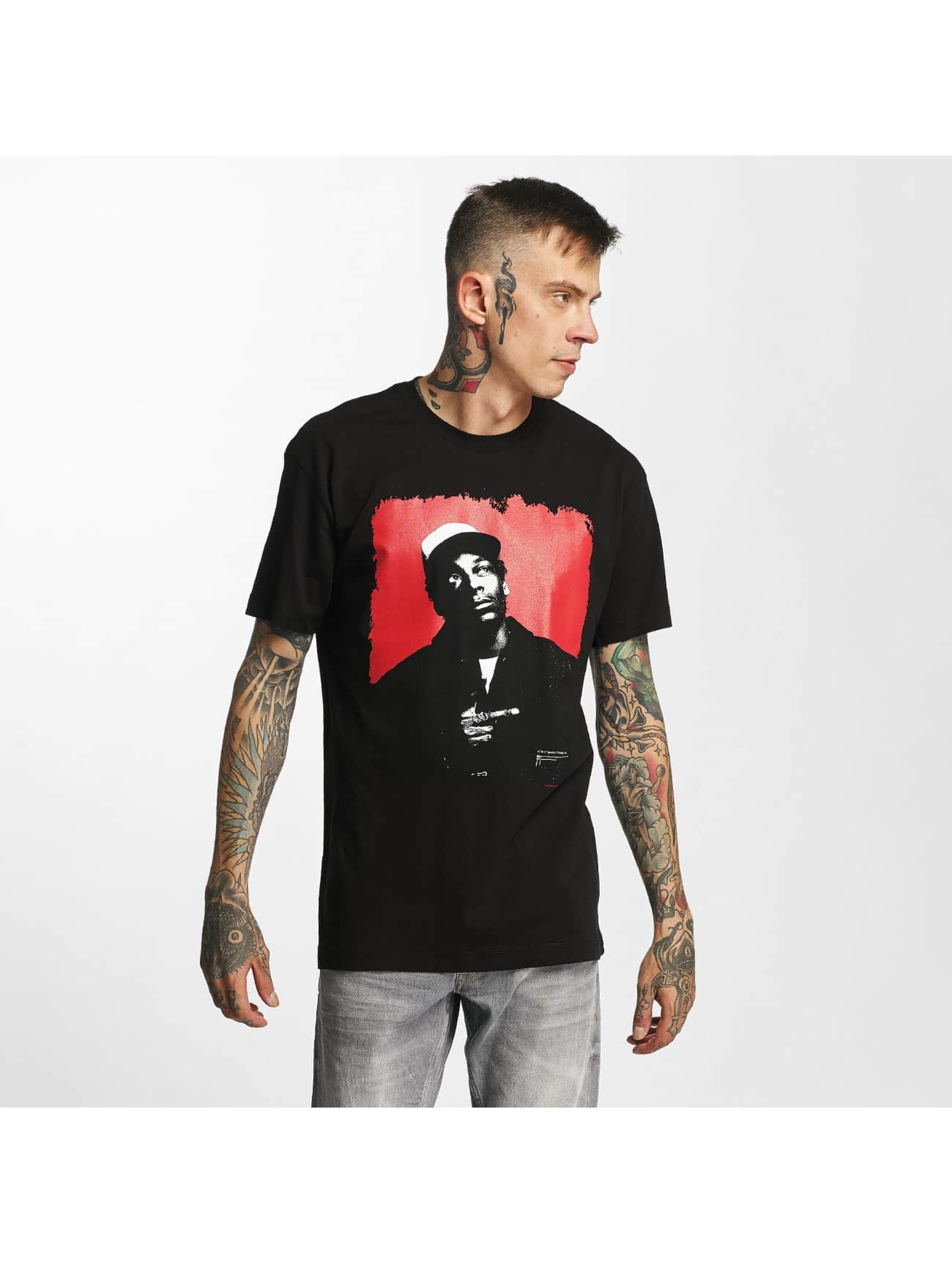 Amplified Männer T-Shirt Snoop Dogg - Red Square in schwarz