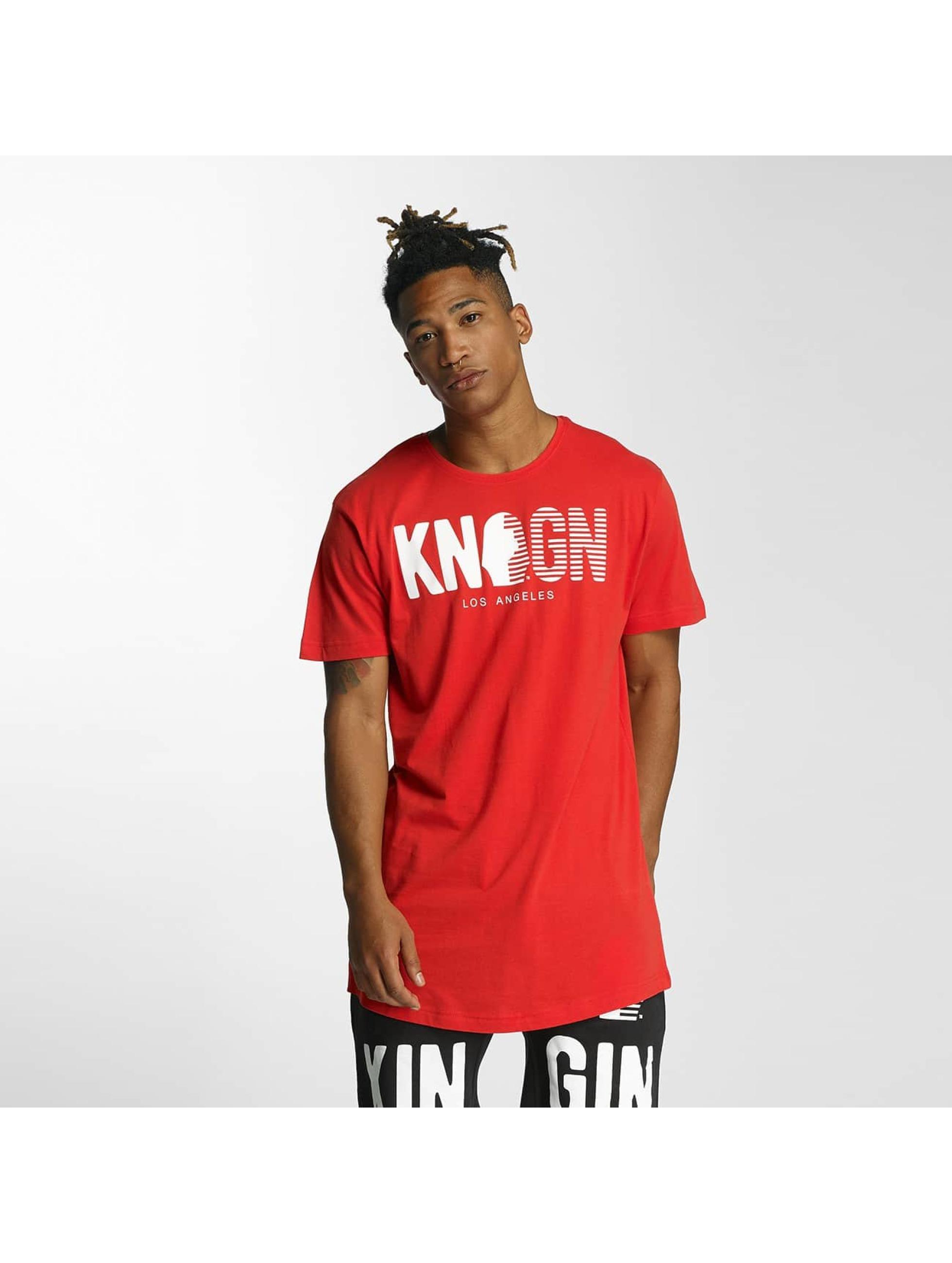 Kingin Männer T-Shirt Pharao in rot