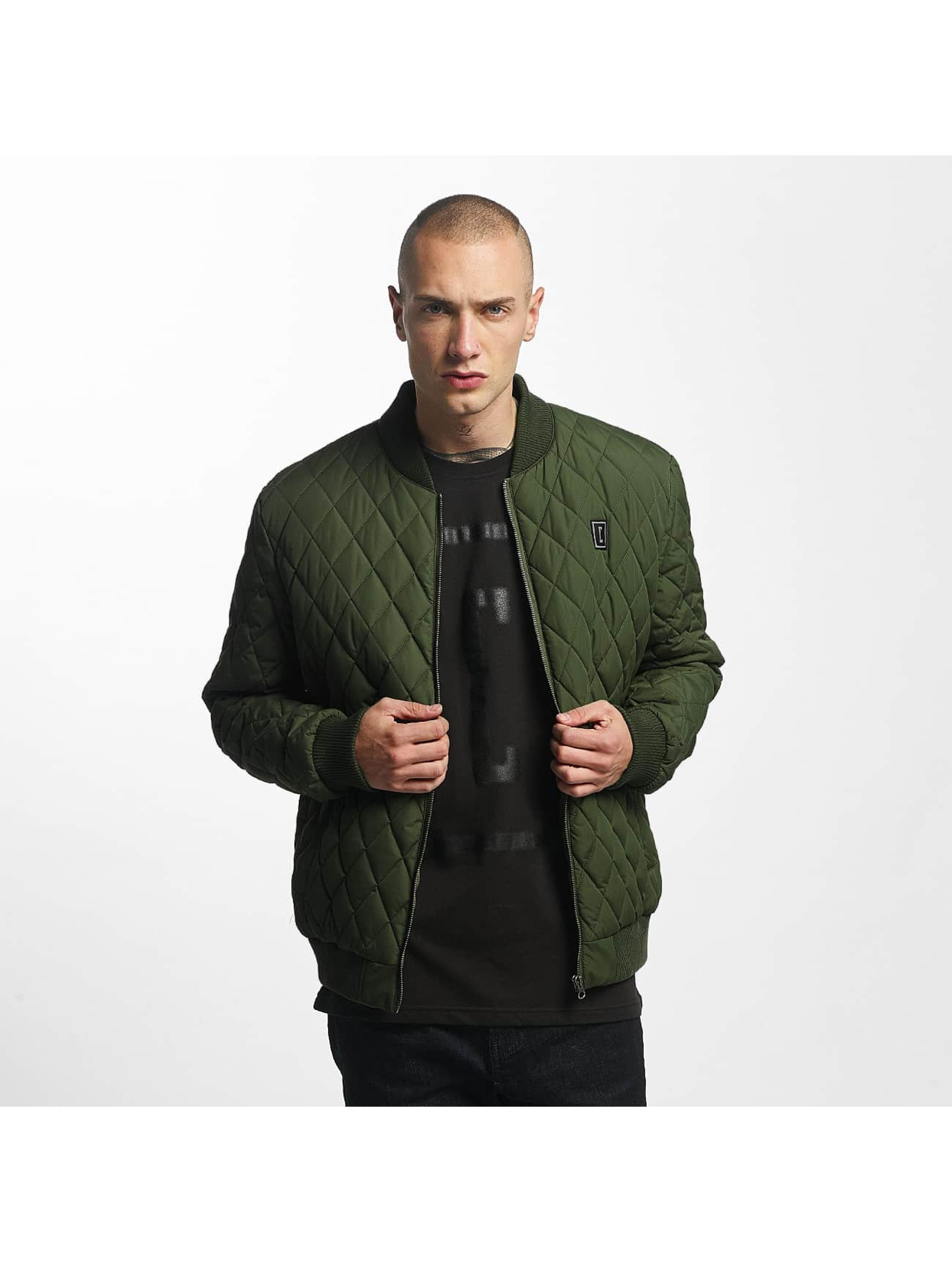 Cyprime / Bomber jacket Quilted Bomber in olive S