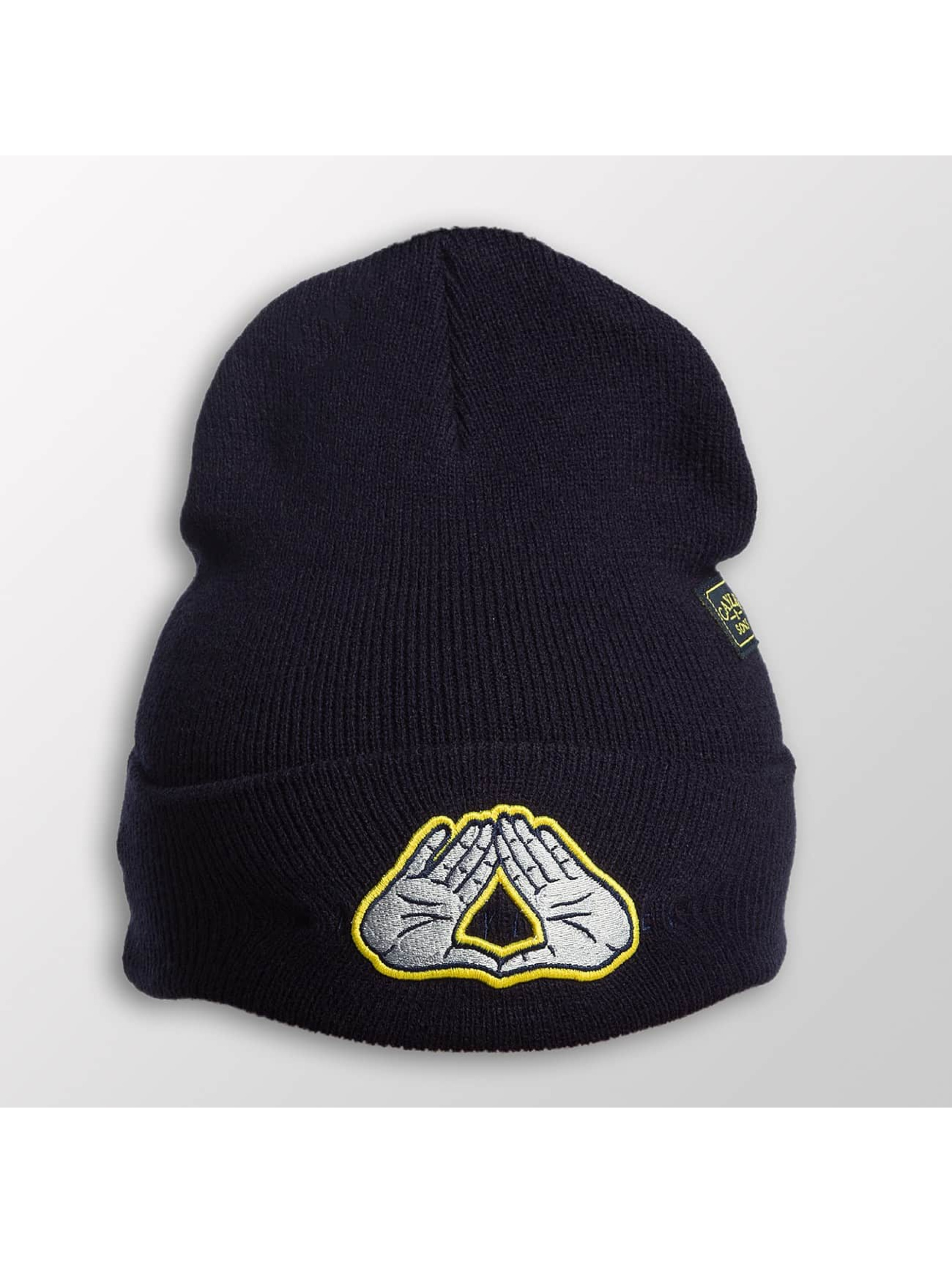 Cayler & Sons Männer,Frauen Beanie WL Dynasty ATHL Old School in blau
