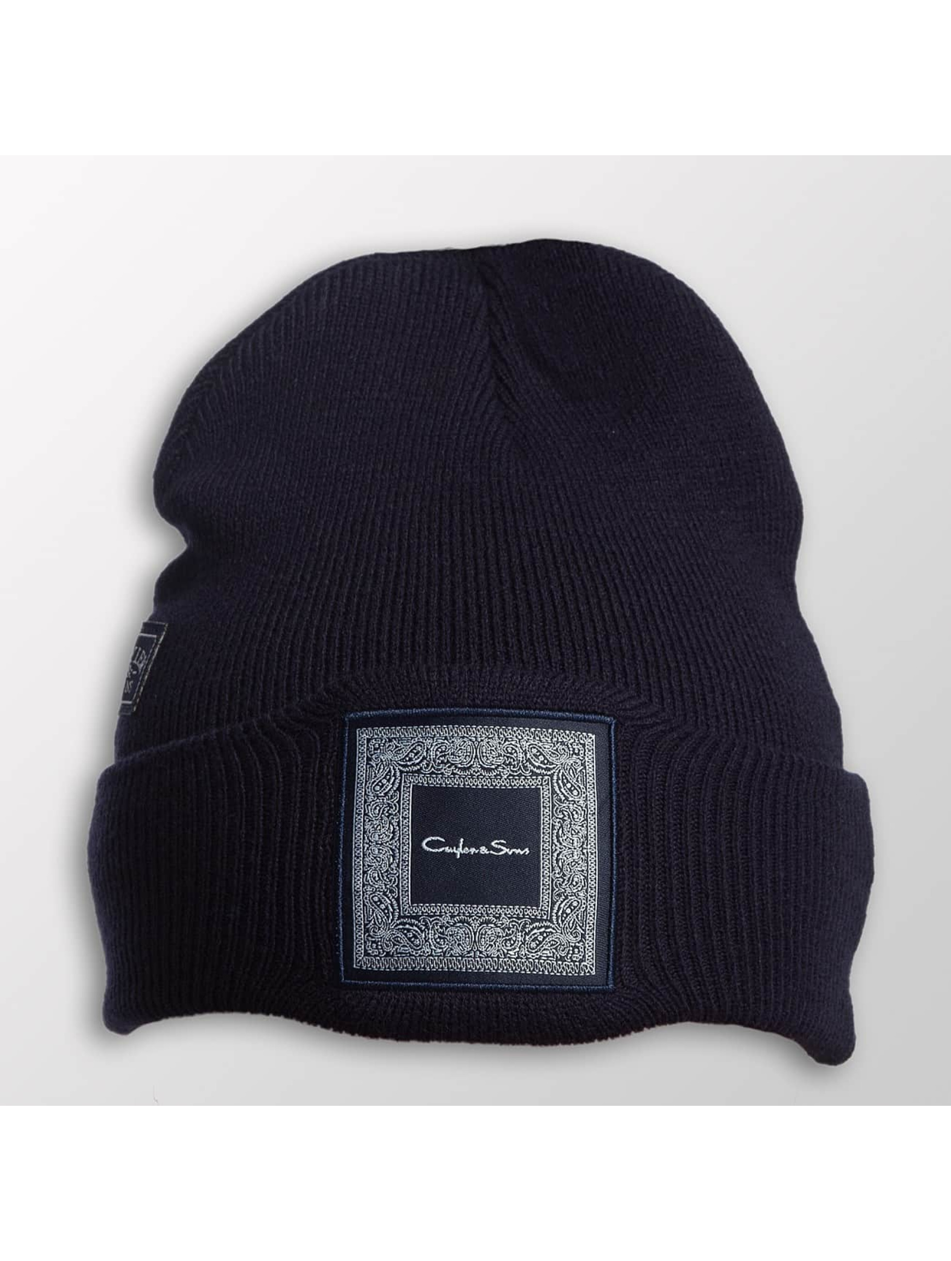 Cayler & Sons Männer,Frauen Beanie WL Westcoast Old School in blau