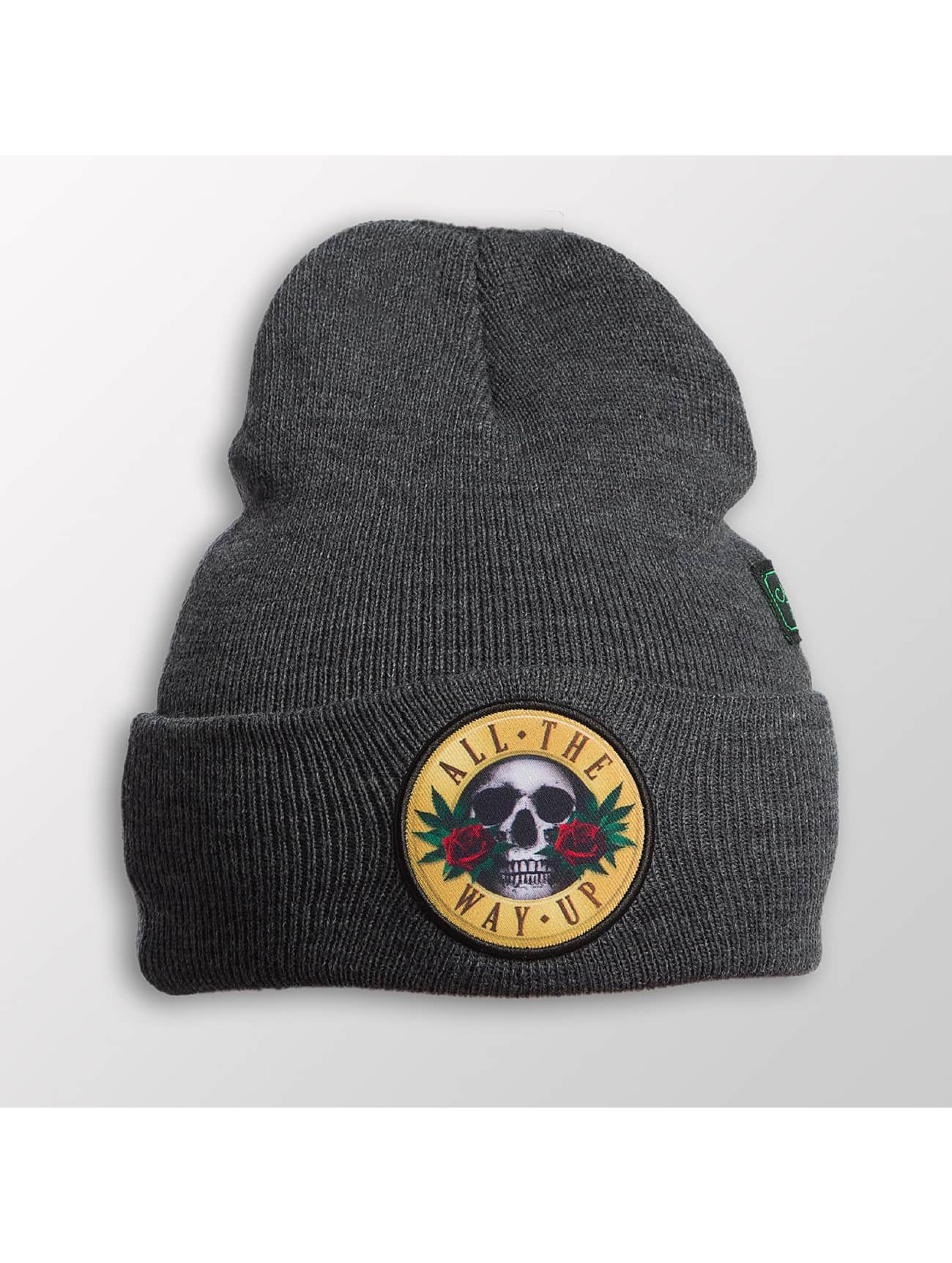 Cayler & Sons Männer,Frauen Beanie WL Budz N´ Skullz Old School in grau