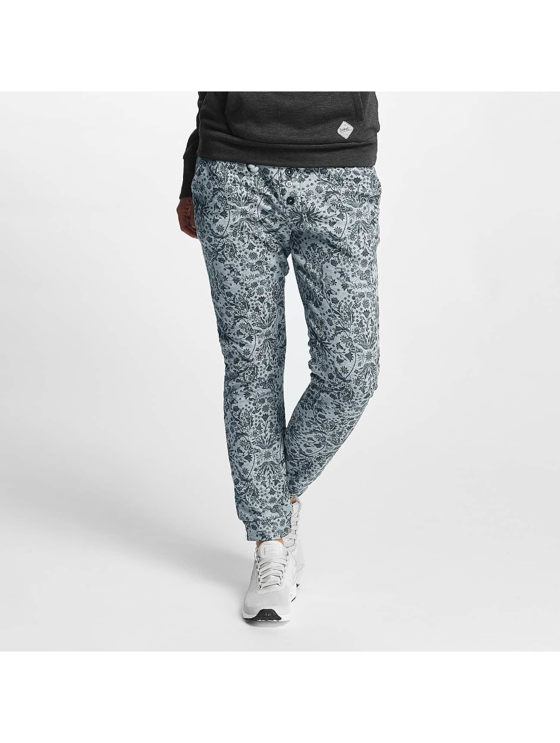 Sublevel Frauen Jogginghose Allover Printed in grau