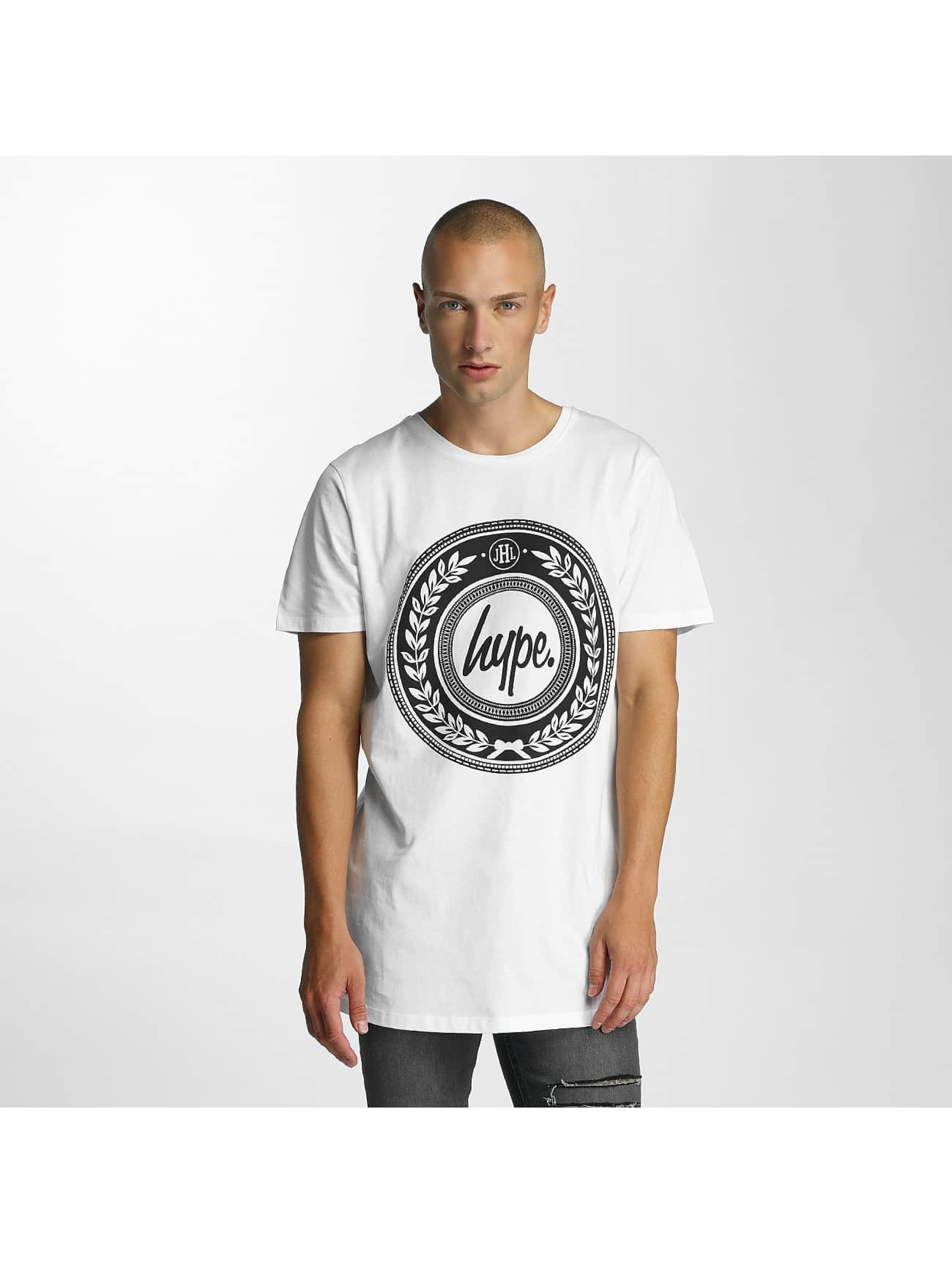 HYPE Männer T-Shirt Reef Dished in weiß