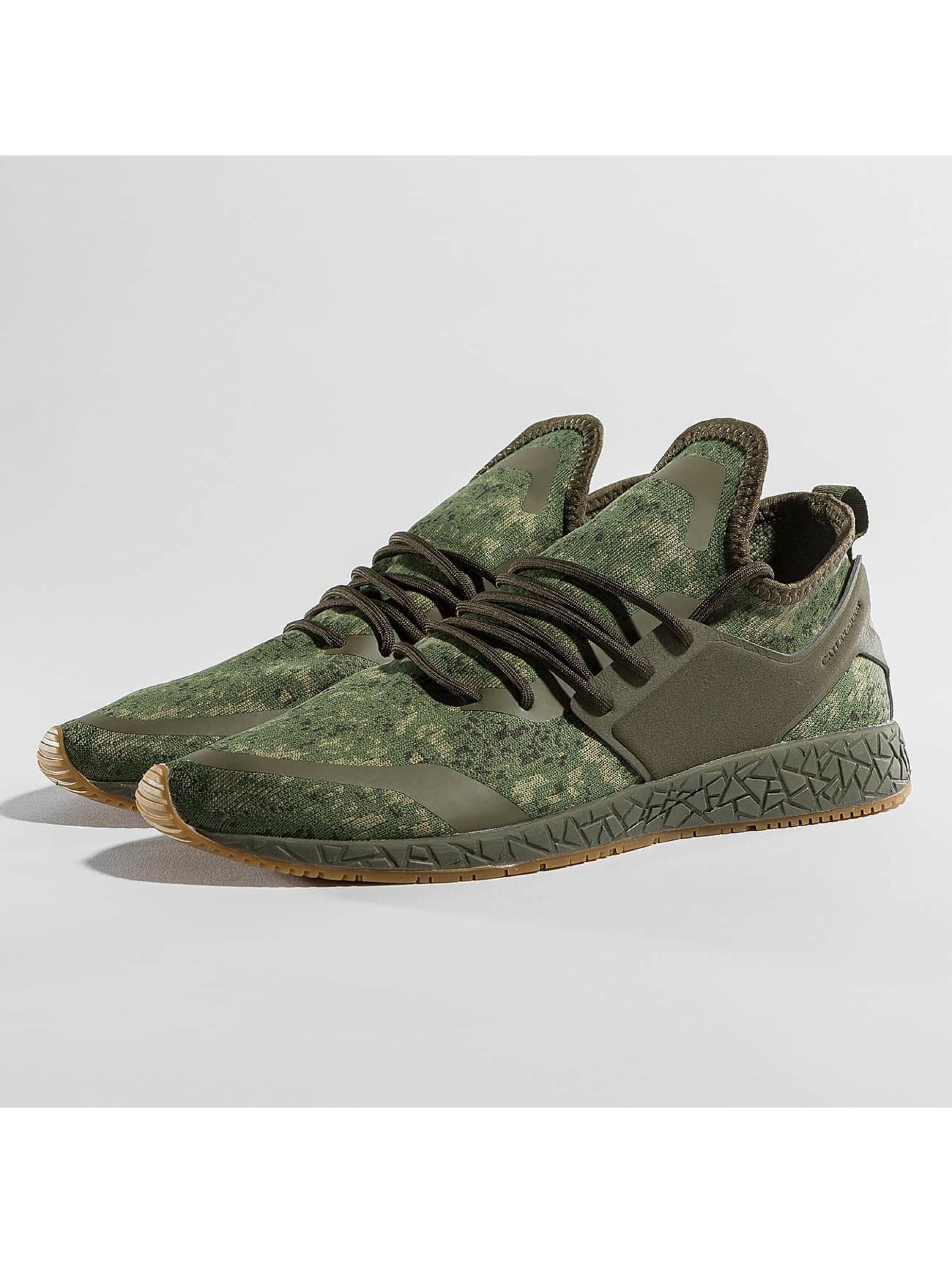 Cayler & Sons Männer Sneaker Kaicho Mid in olive