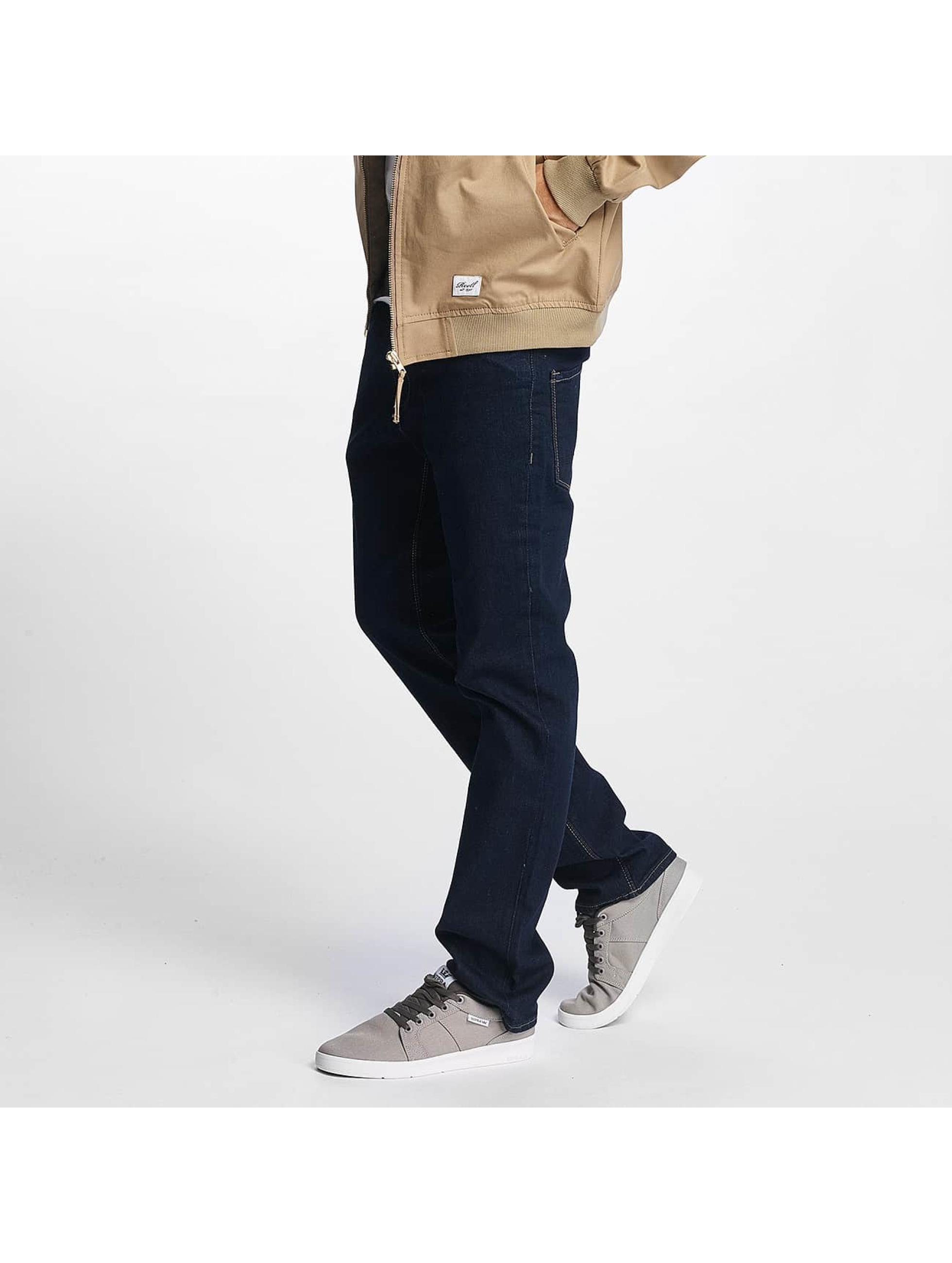 Reell Jeans Männer Straight Fit Jeans Razor in blau