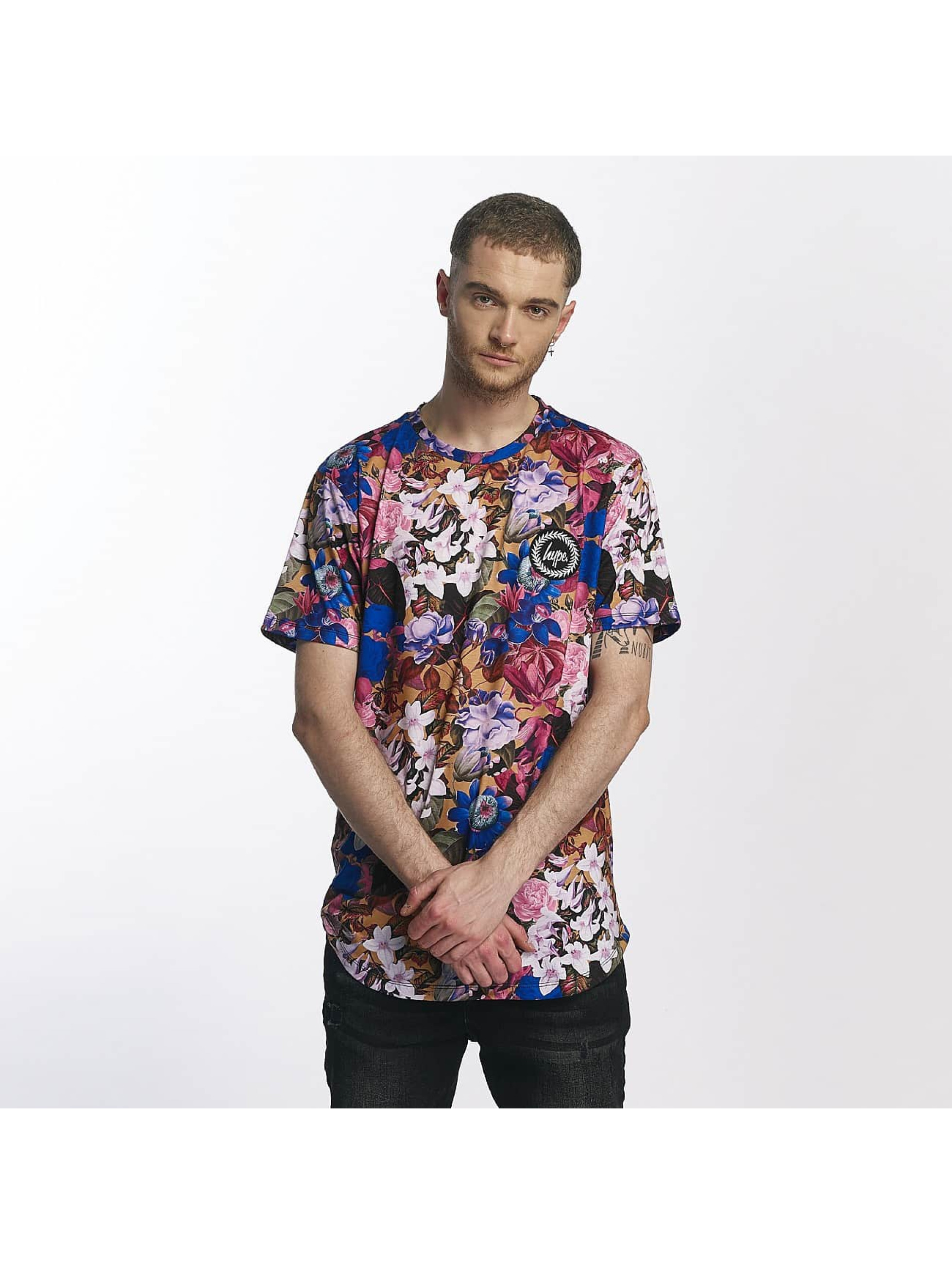 HYPE Männer T-Shirt Side Tape Dished in bunt