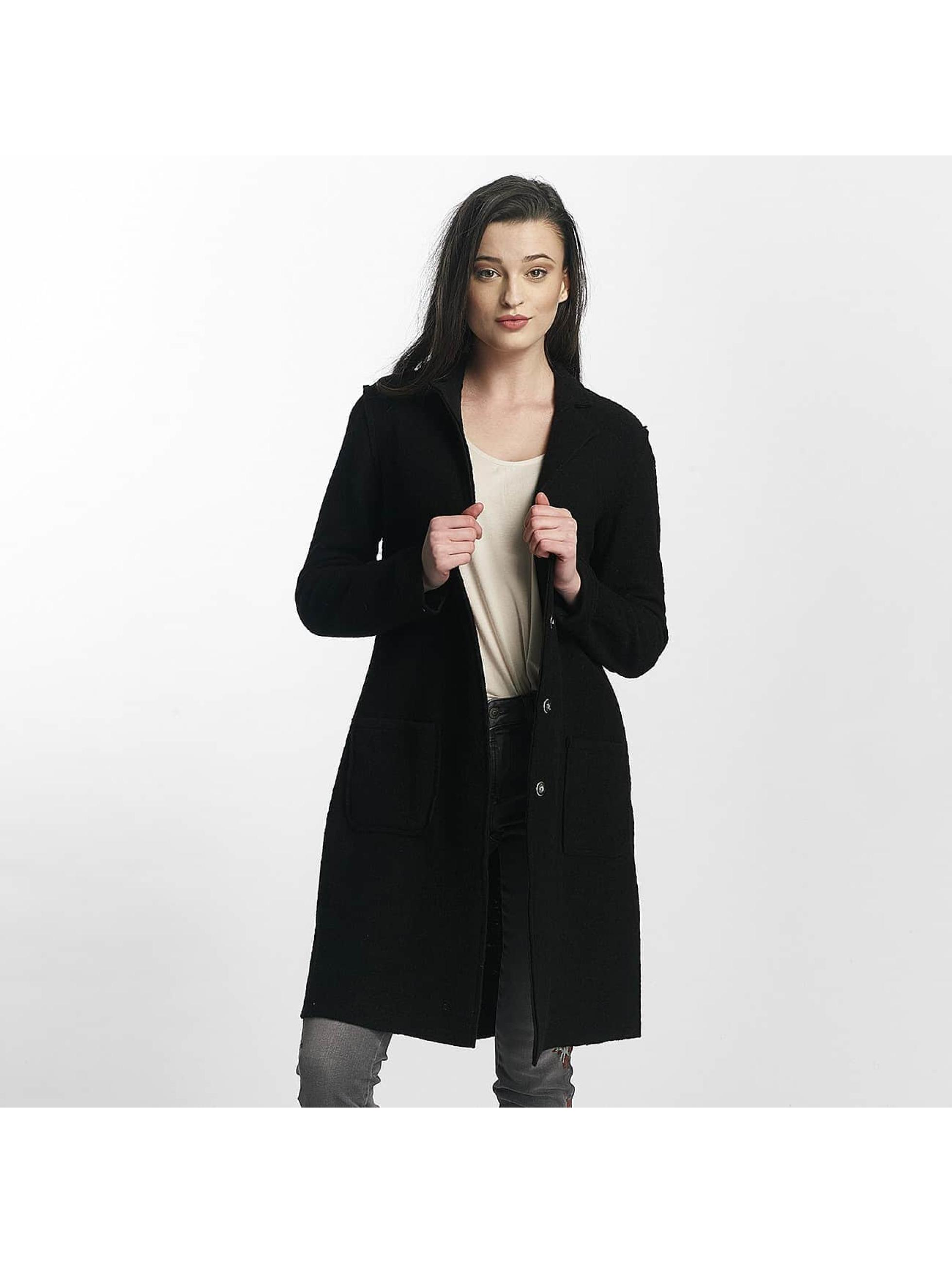 Mavi Jeans Frauen Strickjacke Longsleeve in schwarz