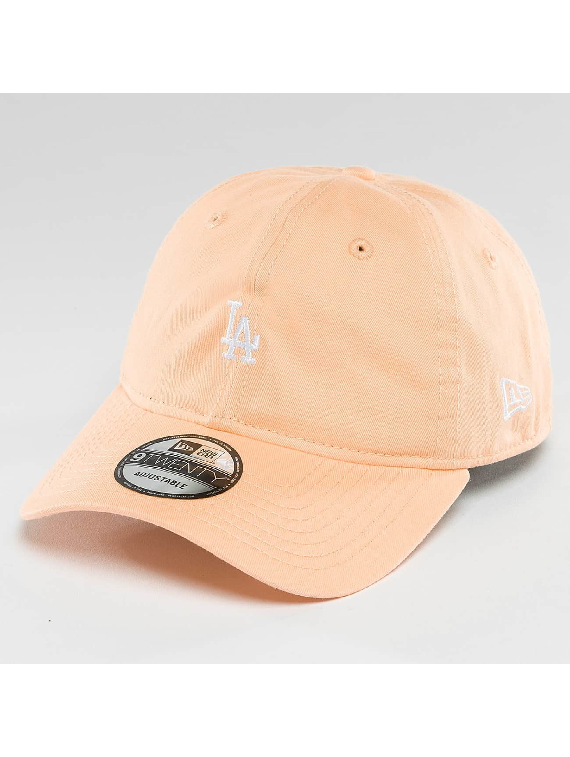 New Era Männer,Frauen Snapback Cap Pastel Micro LA Dodgers 9Twenty in orange