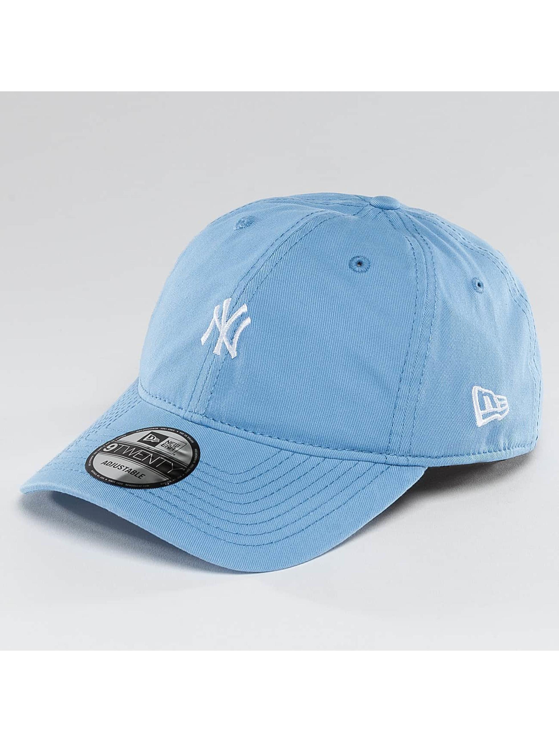 New Era Männer,Frauen Snapback Cap Pastel Micro NY Yankees 9Twenty in blau