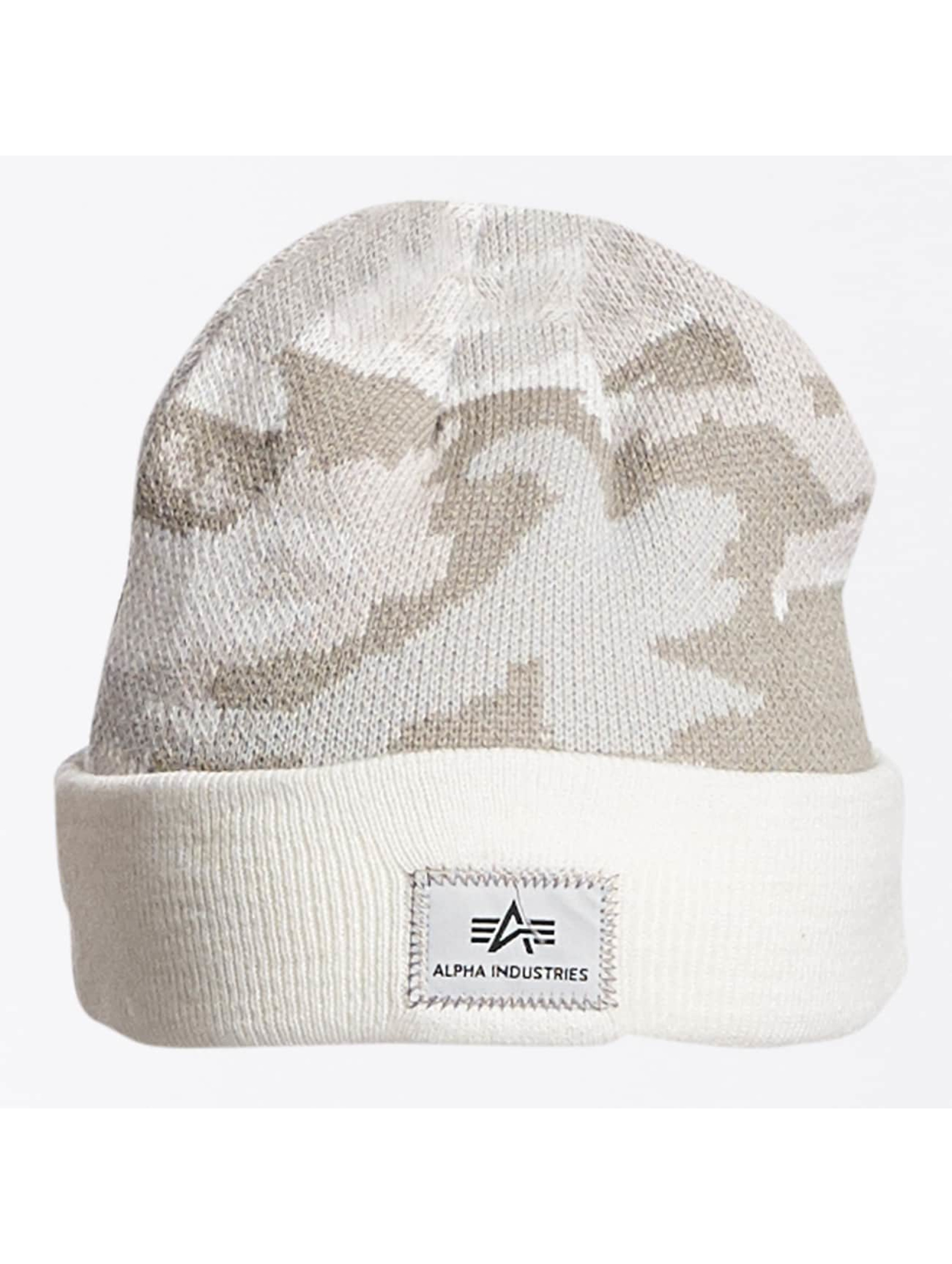Alpha Industries Männer,Frauen Beanie X-Fit in camouflage