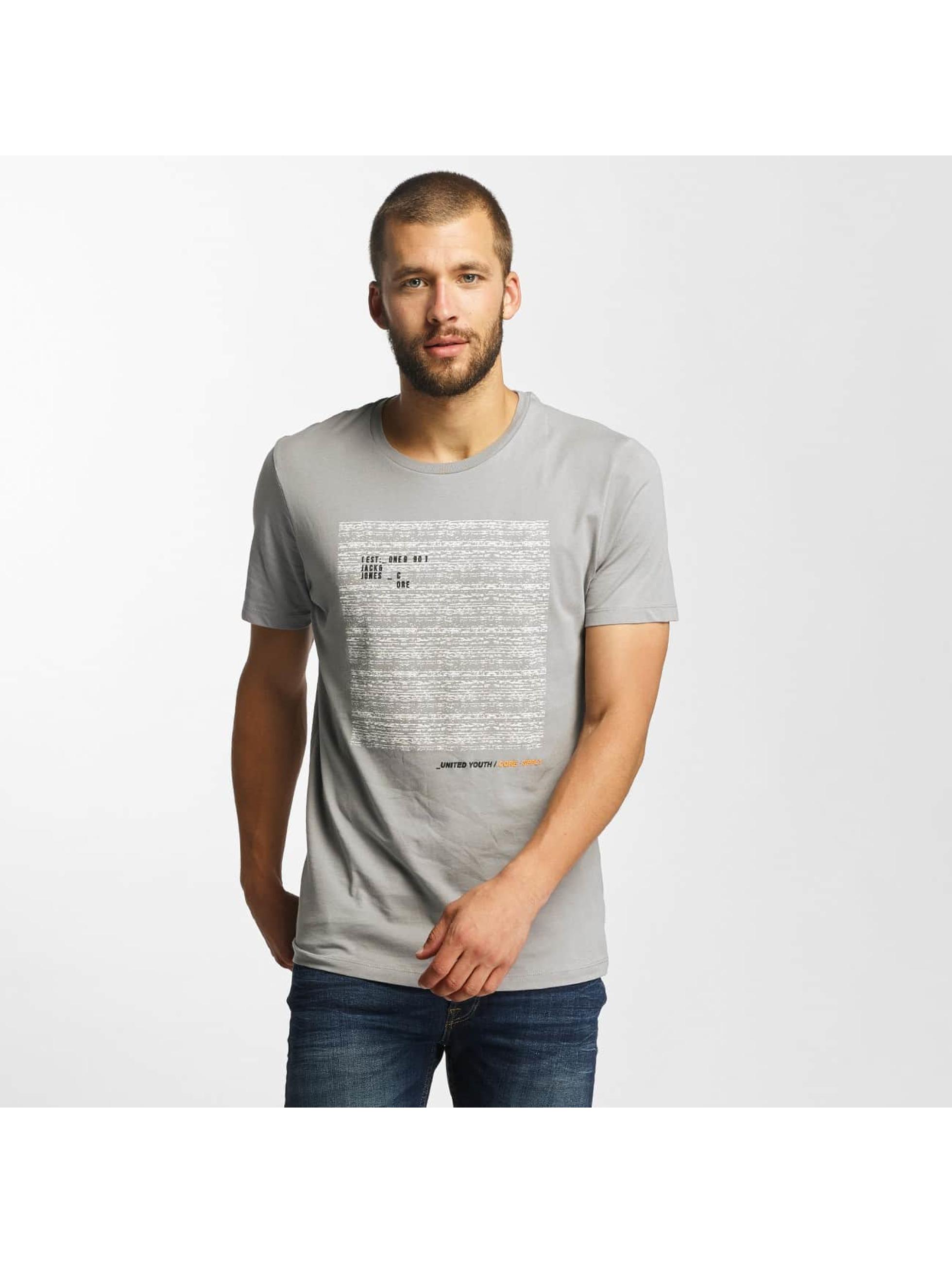 Jack & Jones Männer T-Shirt jcoCharge in grau