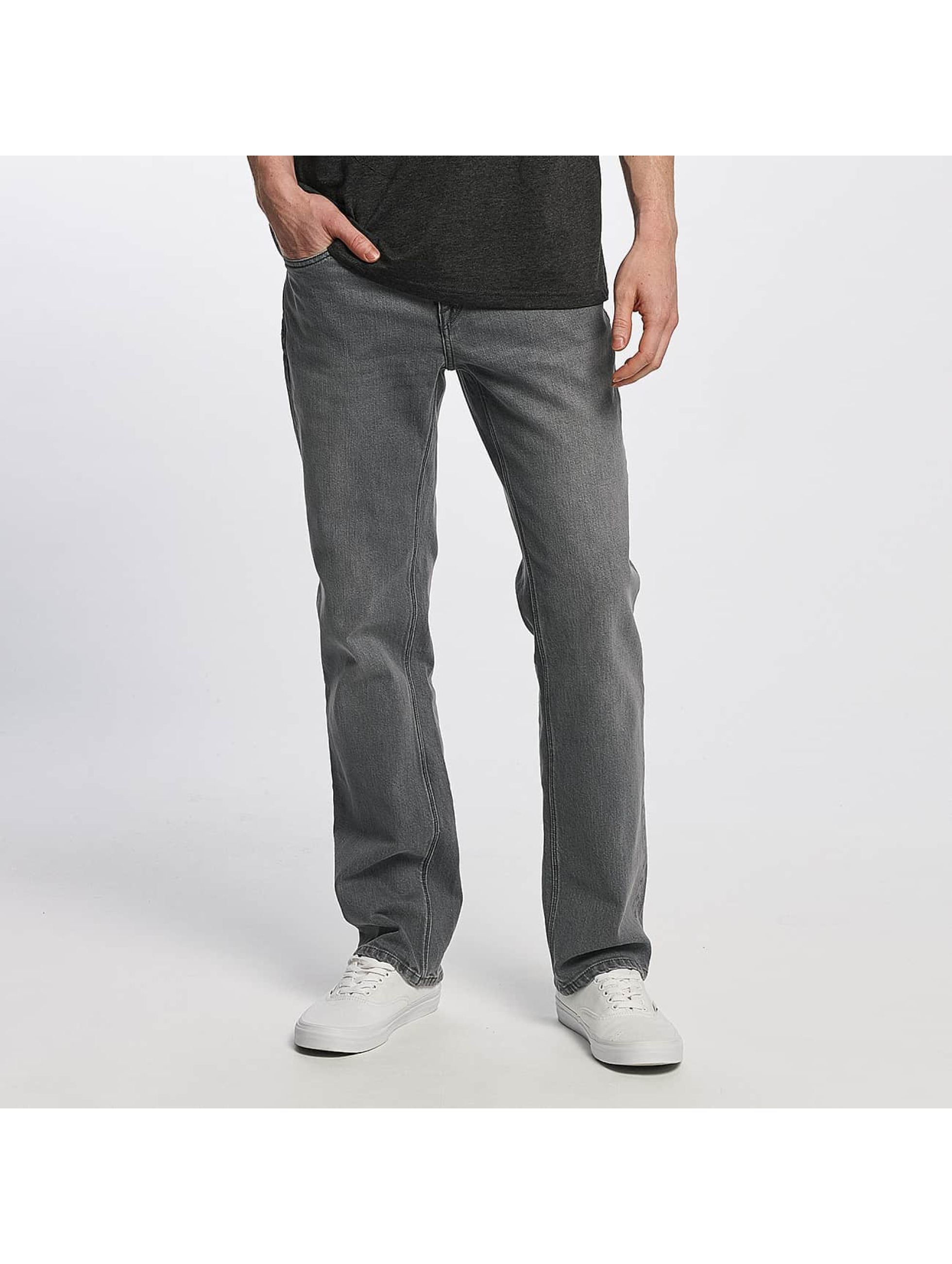 Volcom Männer Straight Fit Jeans Solver Denim in grau