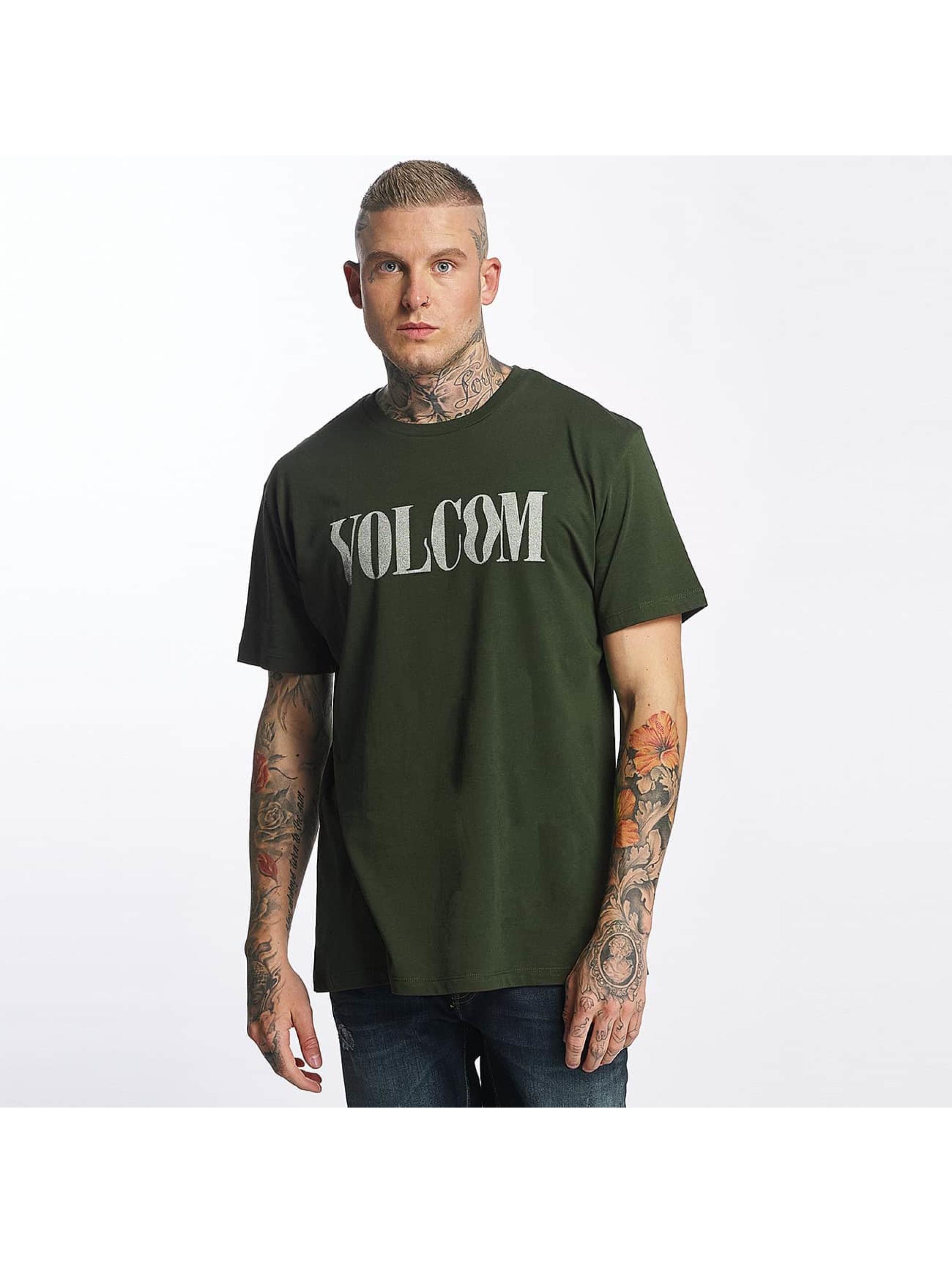 Volcom Männer T-Shirt Weave in olive