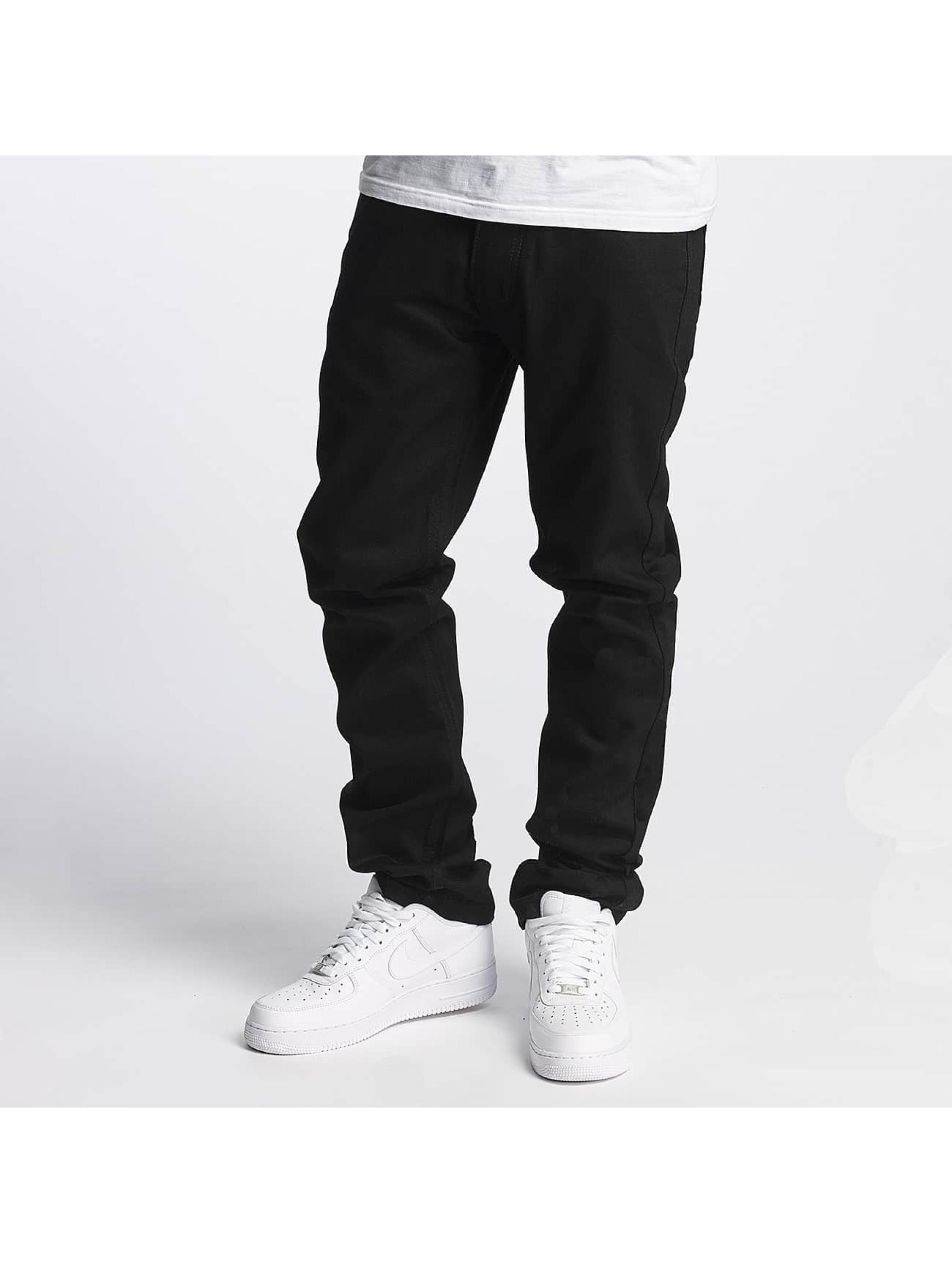 Rocawear Männer Straight Fit Jeans Relax in schwarz