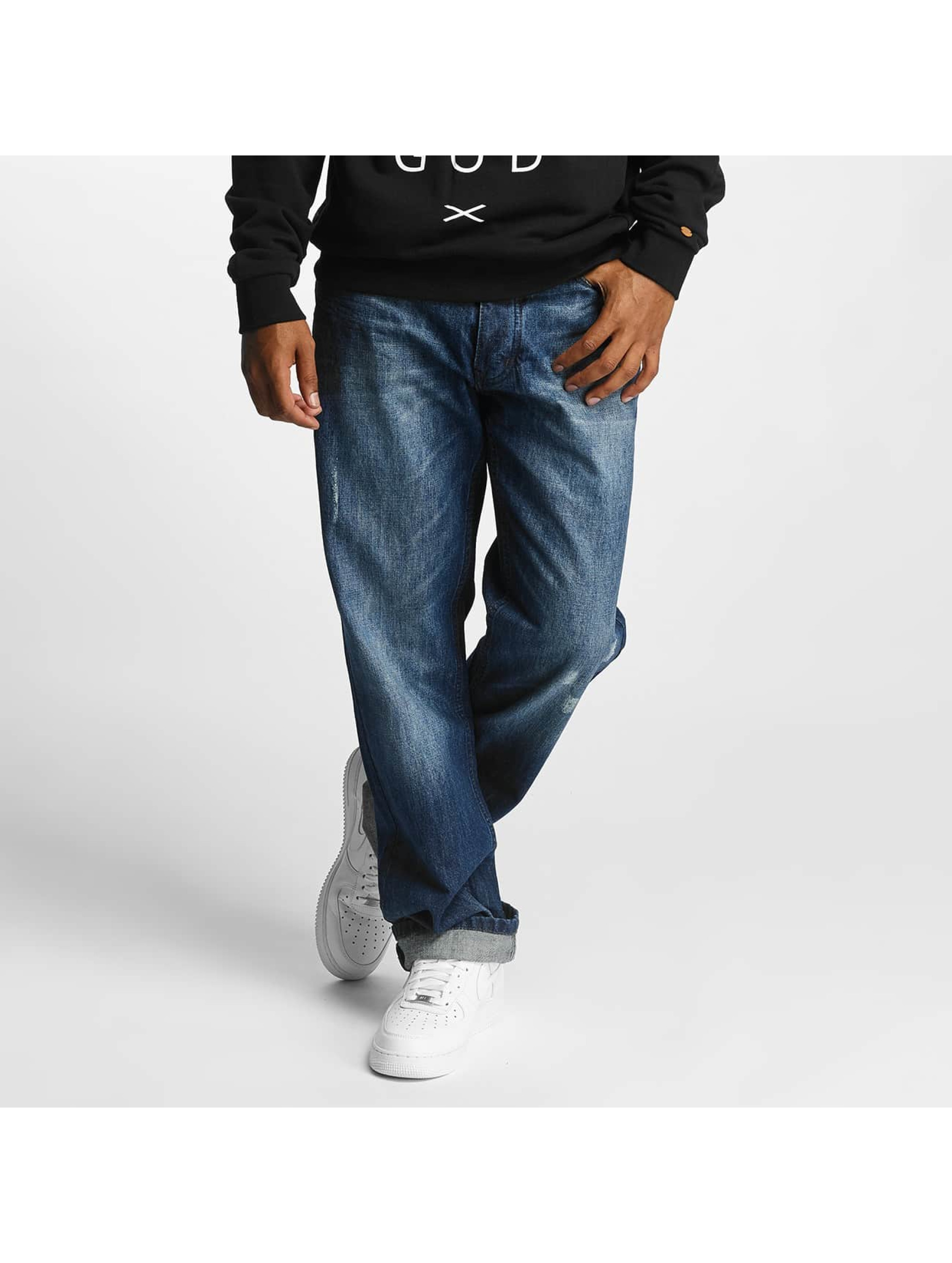 Rocawear / Loose Fit Jeans Loose Fit J in blue W 42