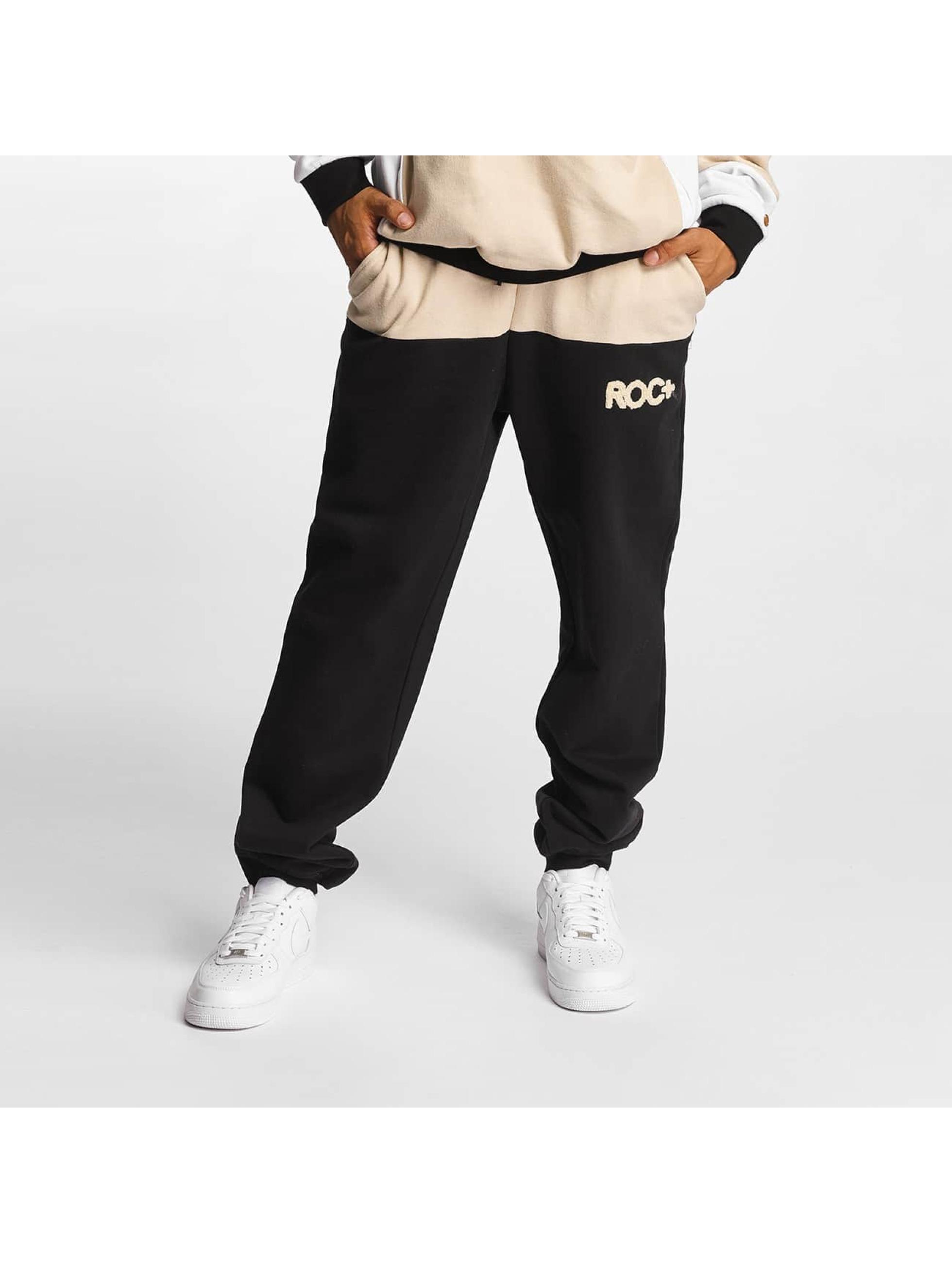 Rocawear Männer Jogginghose Retro Sport Fleece in schwarz