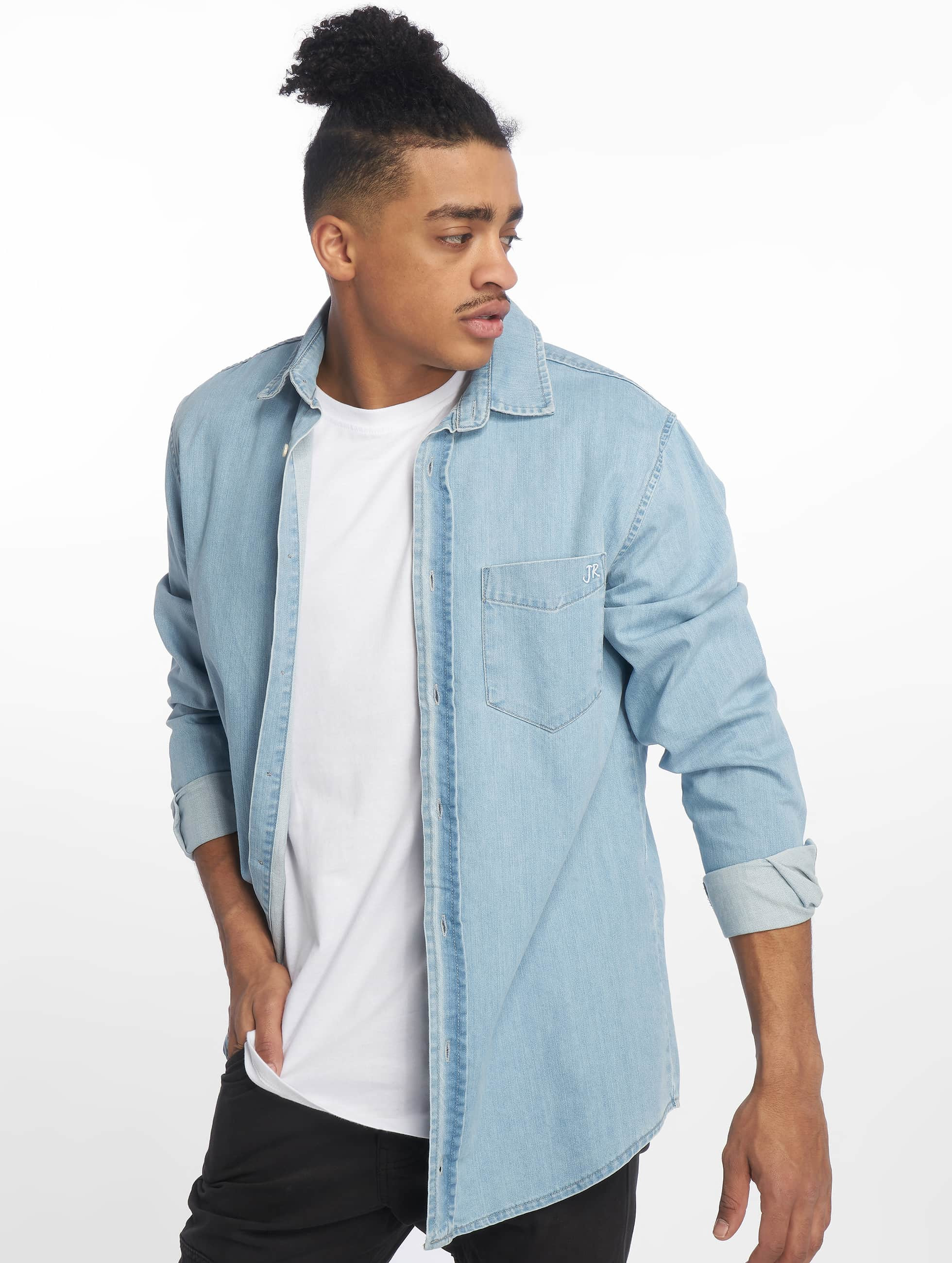 Just Rhyse / Shirt Denim in blue XL