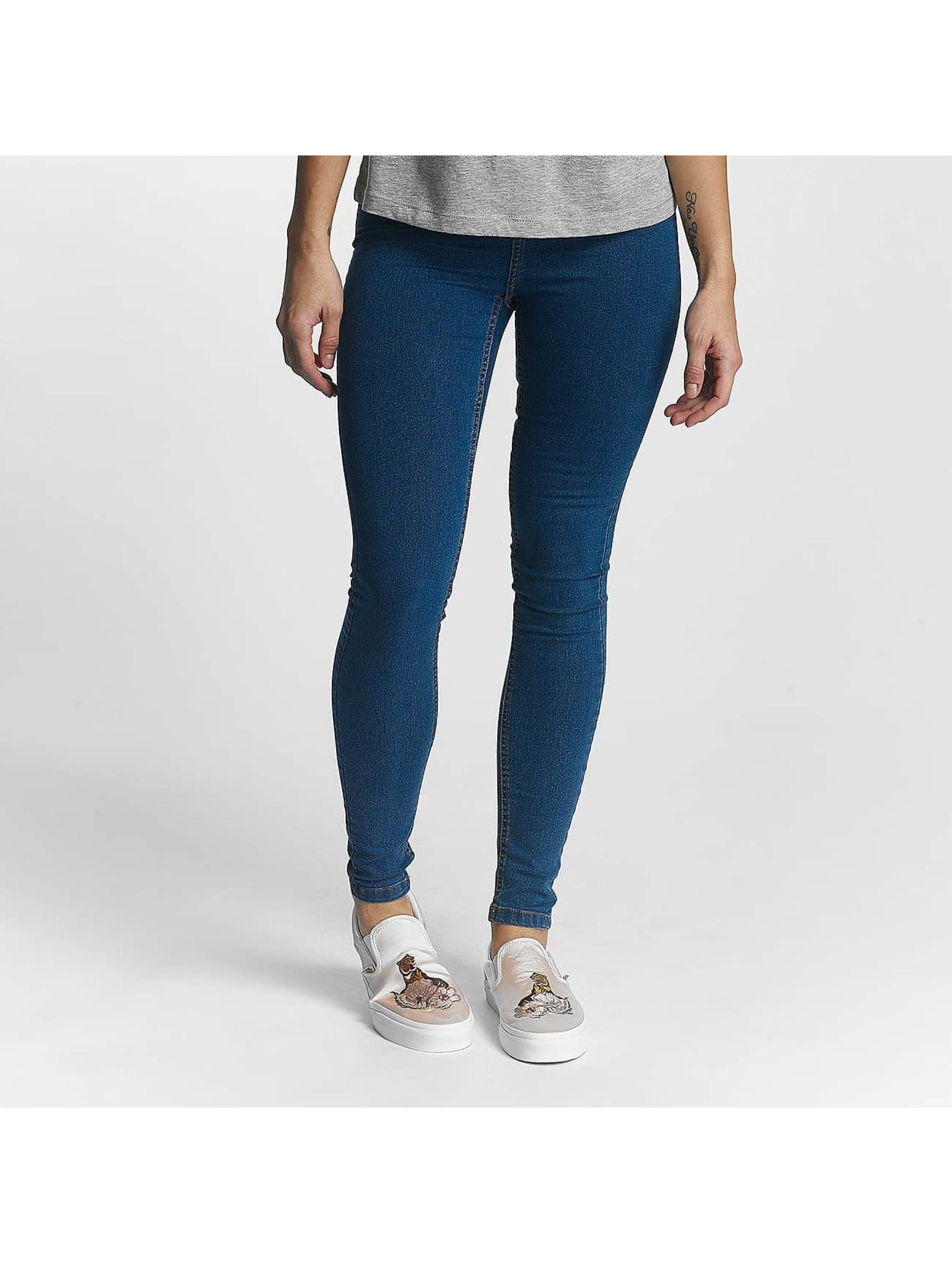 Noisy May Frauen High Waist Jeans nmGreat Lexi in blau